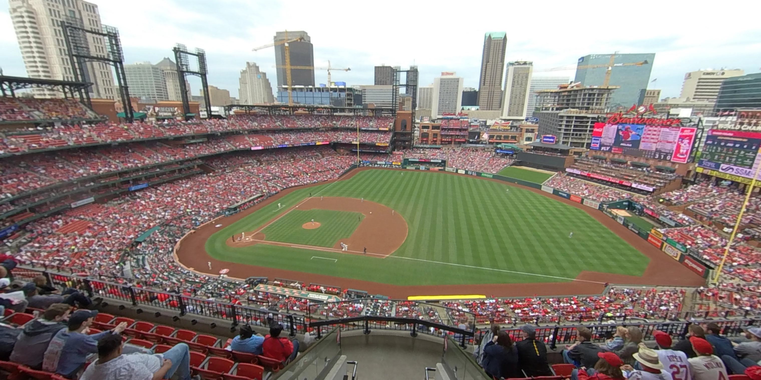 360° Photo From Busch Stadium Section 440