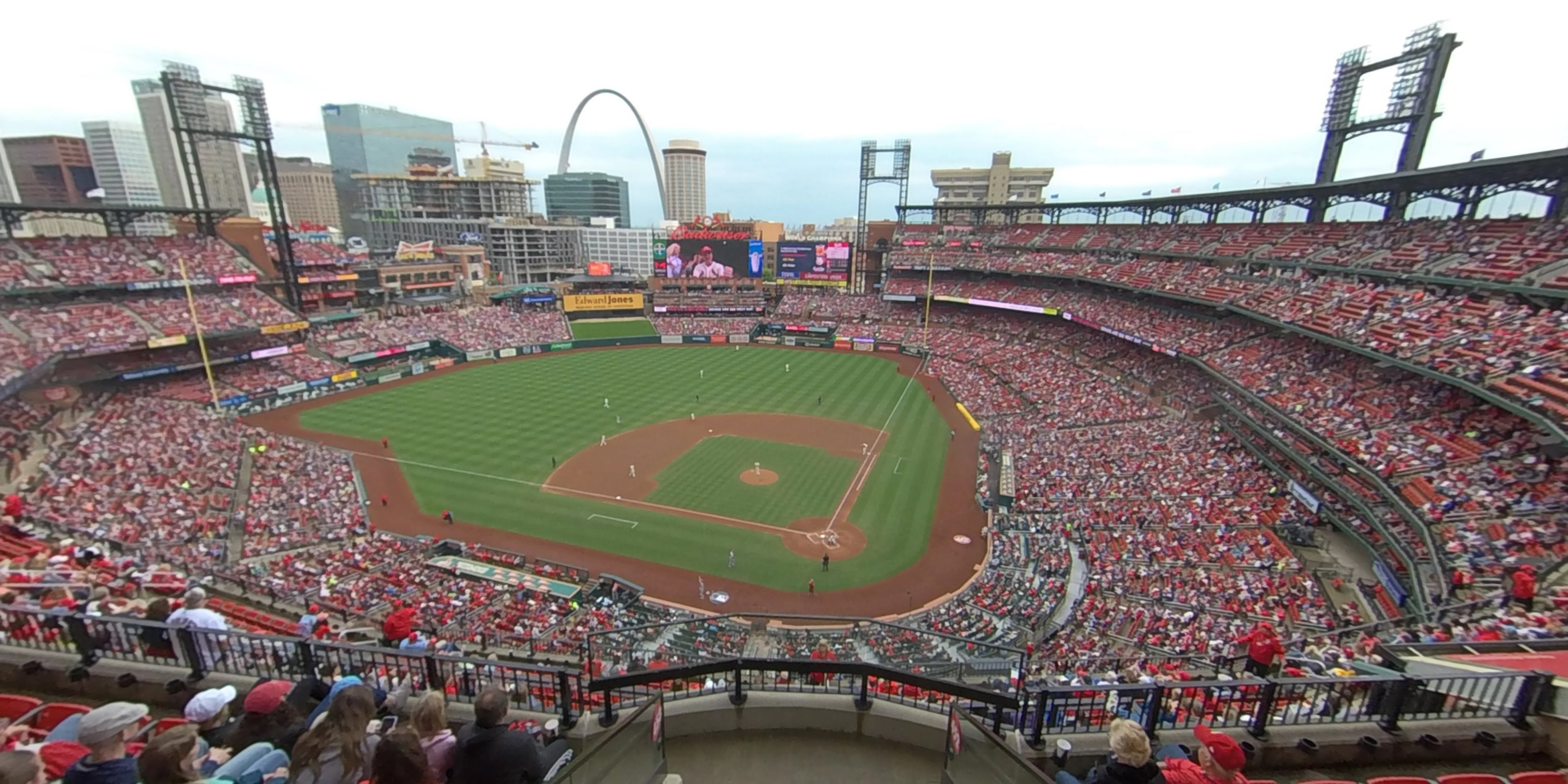 360° Photo From Busch Stadium Section 452
