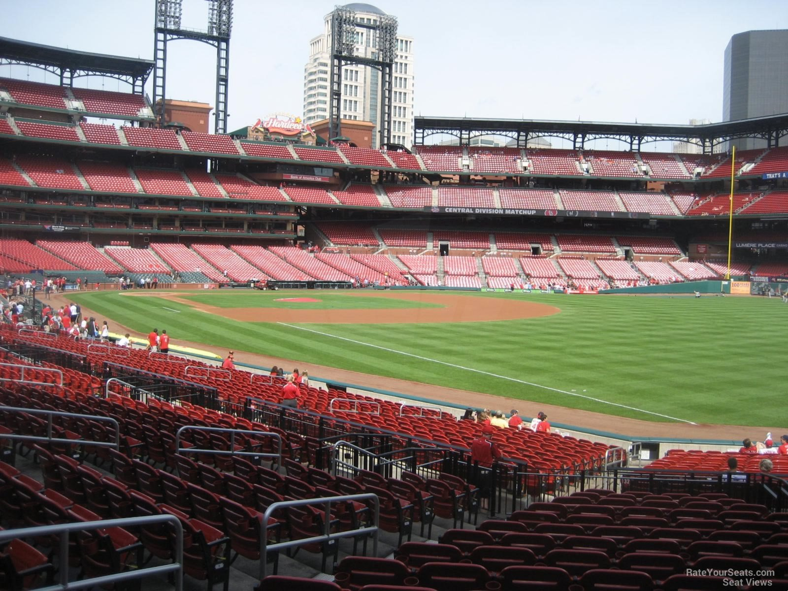 Seat View for Busch Stadium Section 133, Row 16