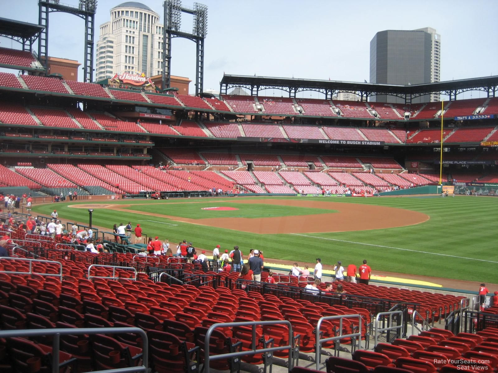 Seat View for Busch Stadium Section 137, Row 16