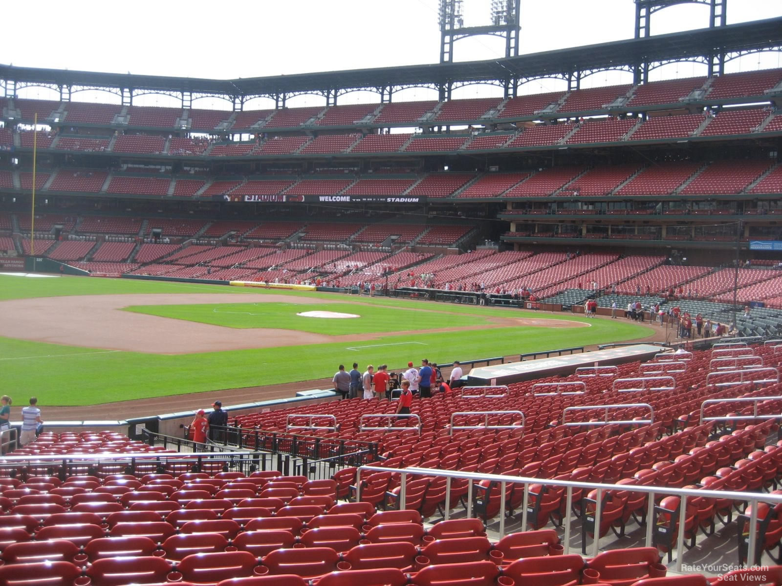 Seat View for Busch Stadium Section 161, Row 16