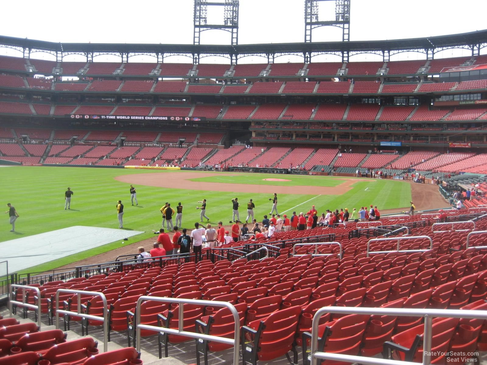 Seat View for Busch Stadium Section 168, Row 16