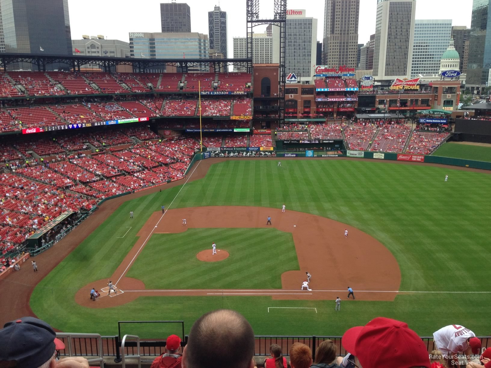 Seat View for Busch Stadium Section 344, Row 9