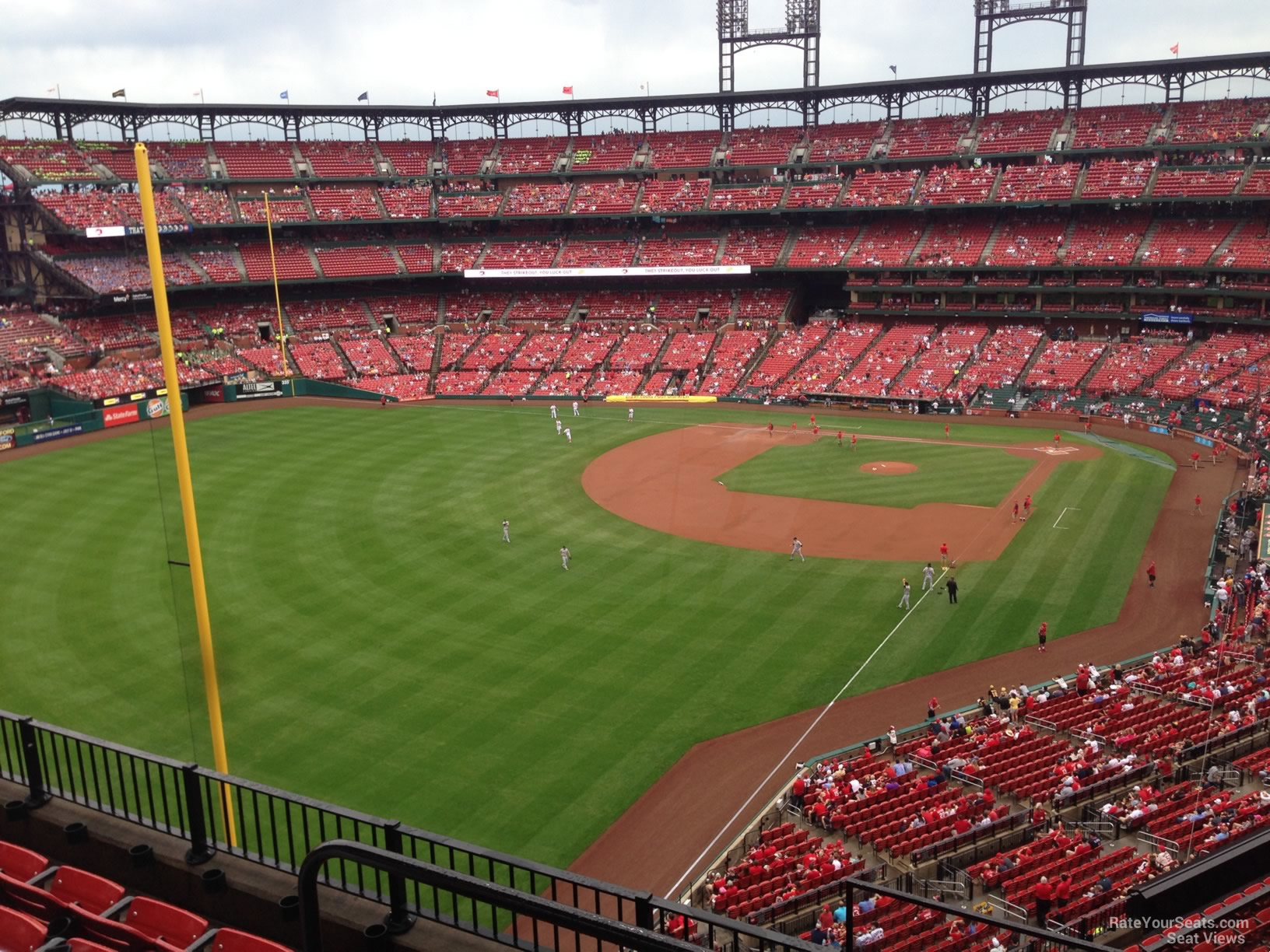 Seat View for Busch Stadium Section 369, Row 5