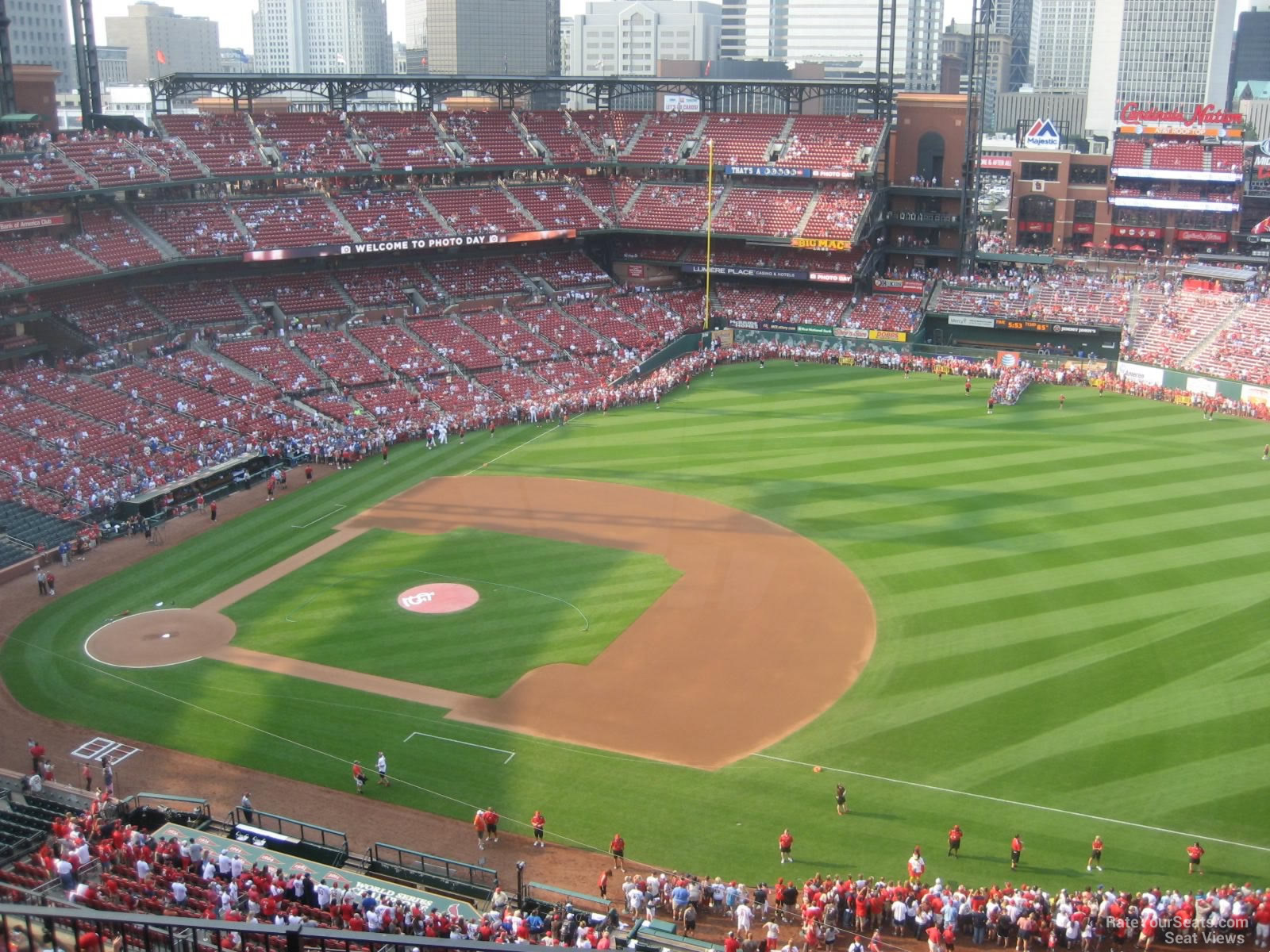 Seat View for Busch Stadium Section 440, Row 7