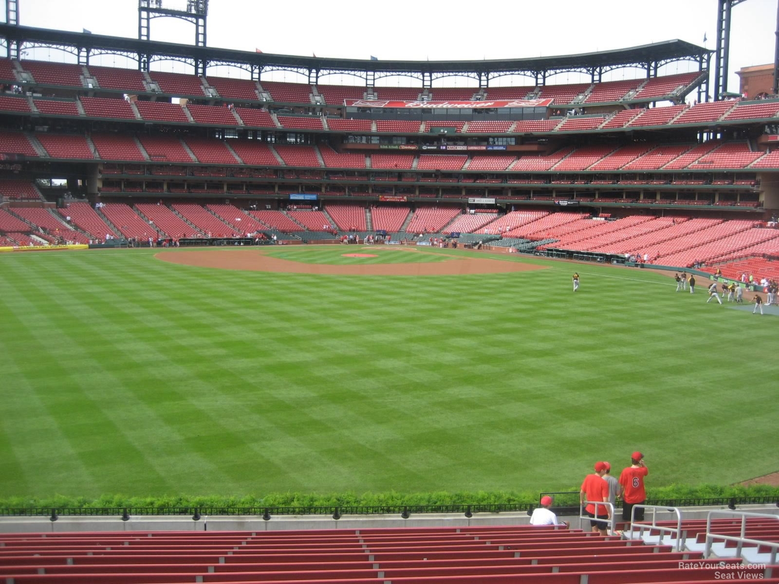 Seat View for Busch Stadium Section 195, Row 17