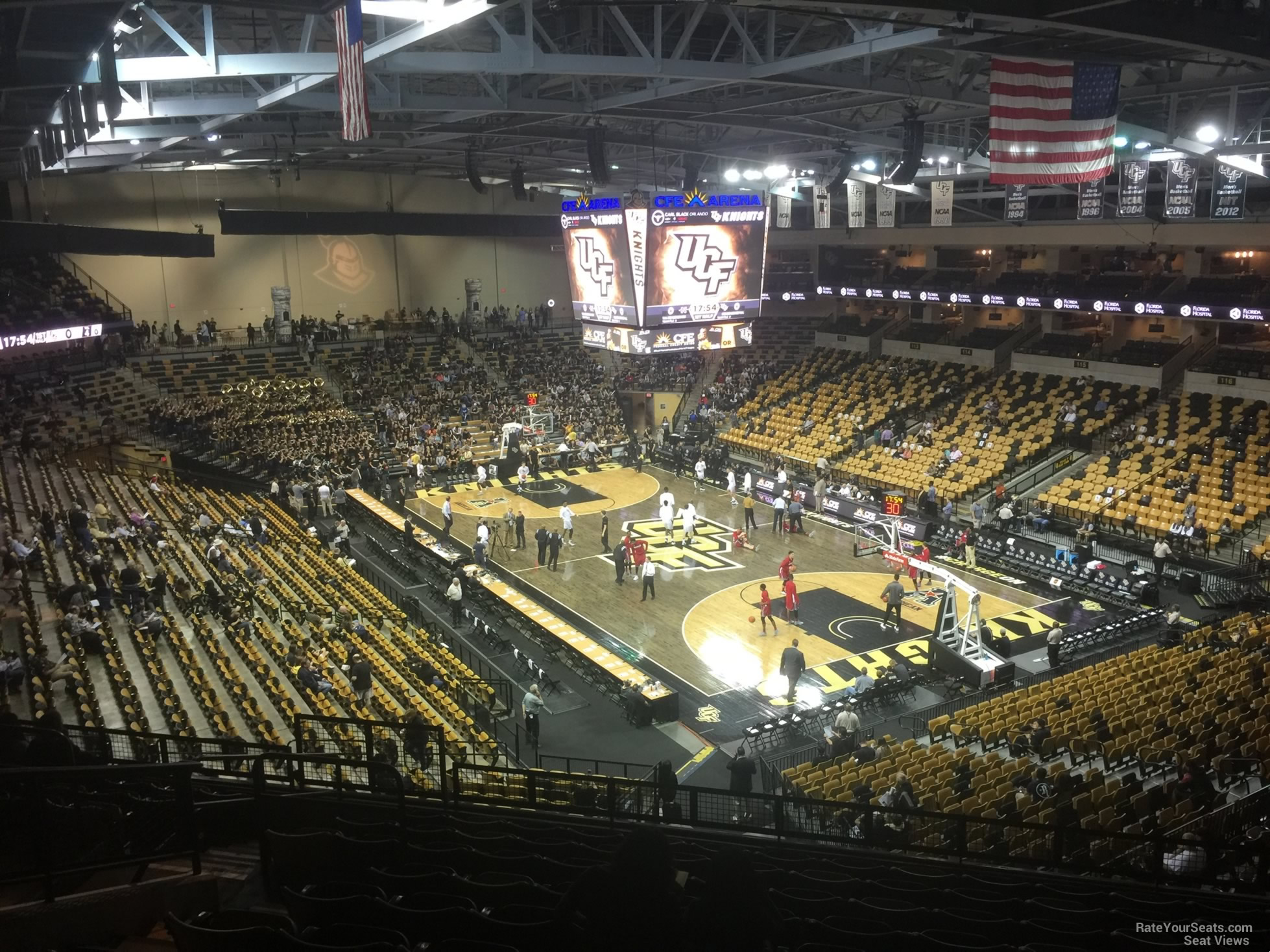 Cfe Arena Section 204 Rateyourseatscom