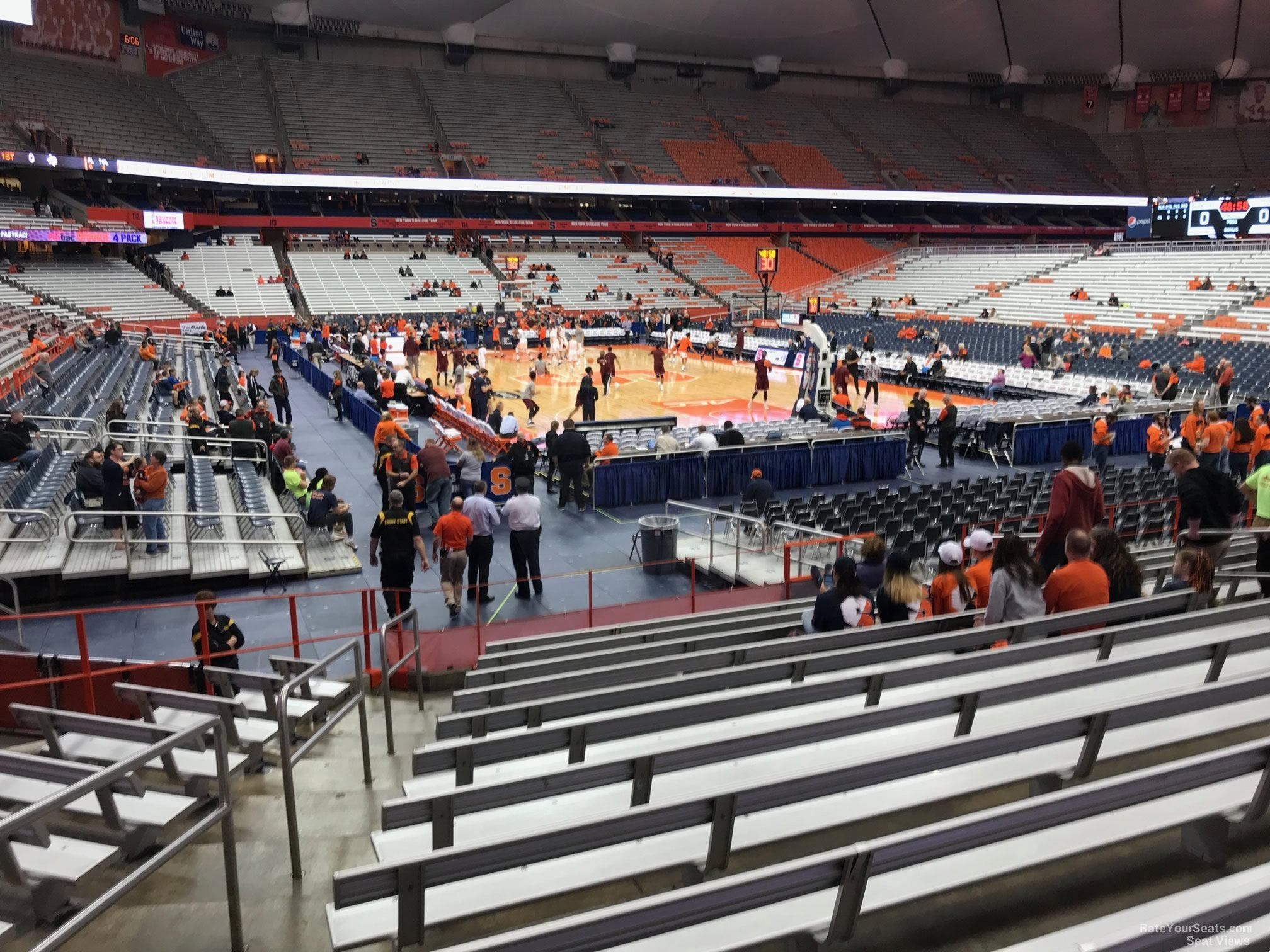 Carrier Dome Section 105 Syracuse Basketball
