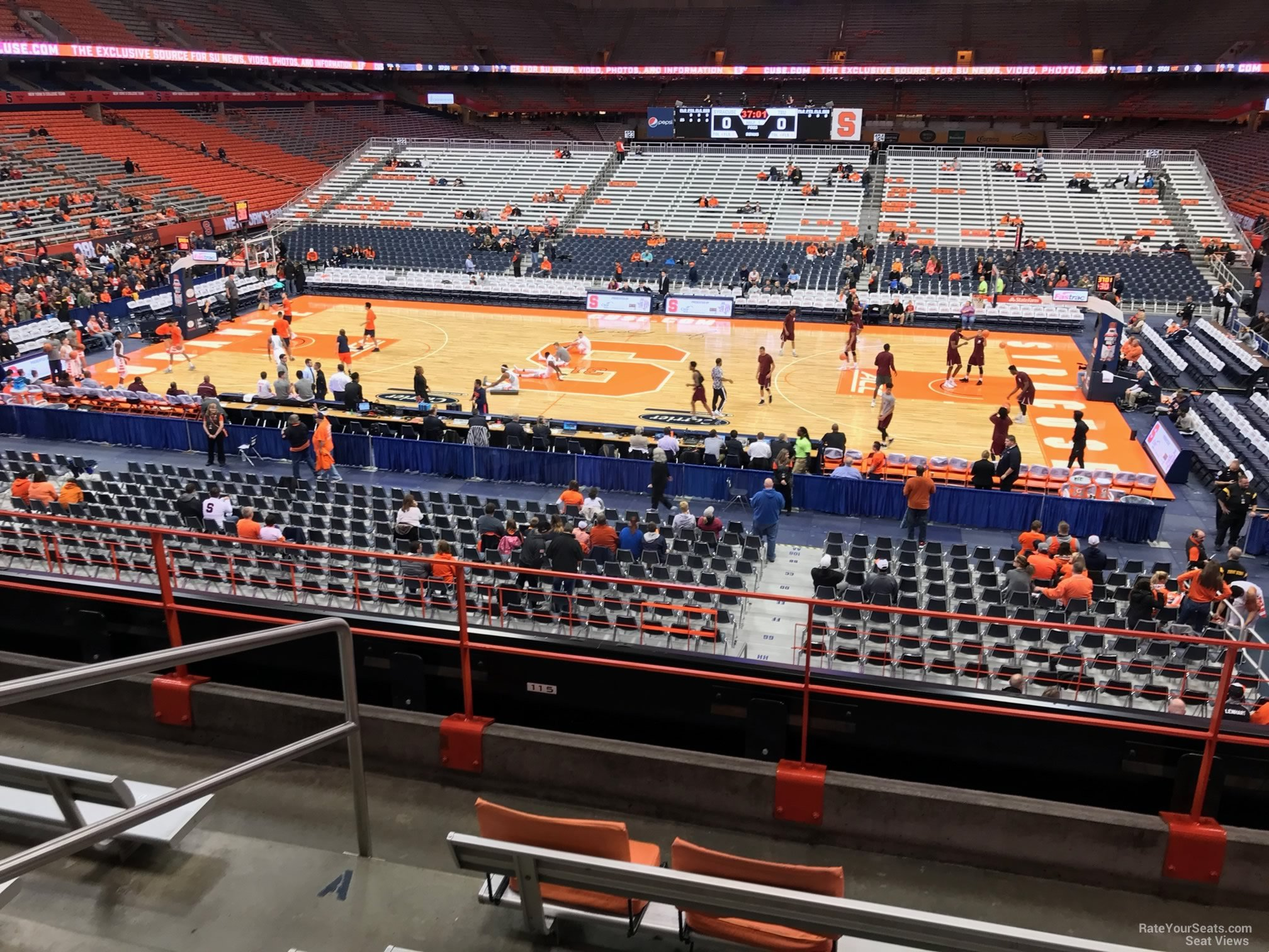 Carrier Dome Section 211 Syracuse Basketball