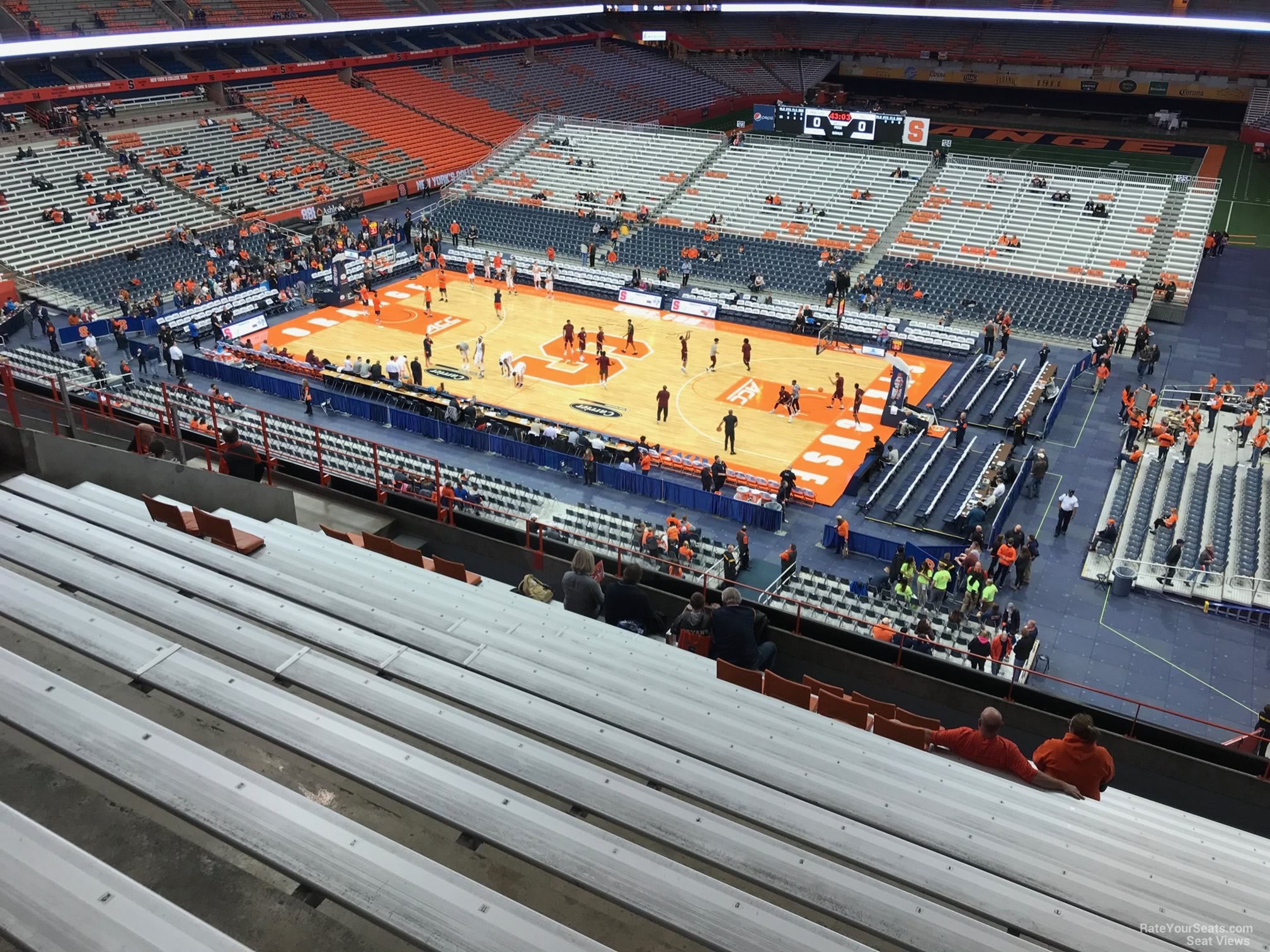 Carrier Dome Section 308 Syracuse Basketball