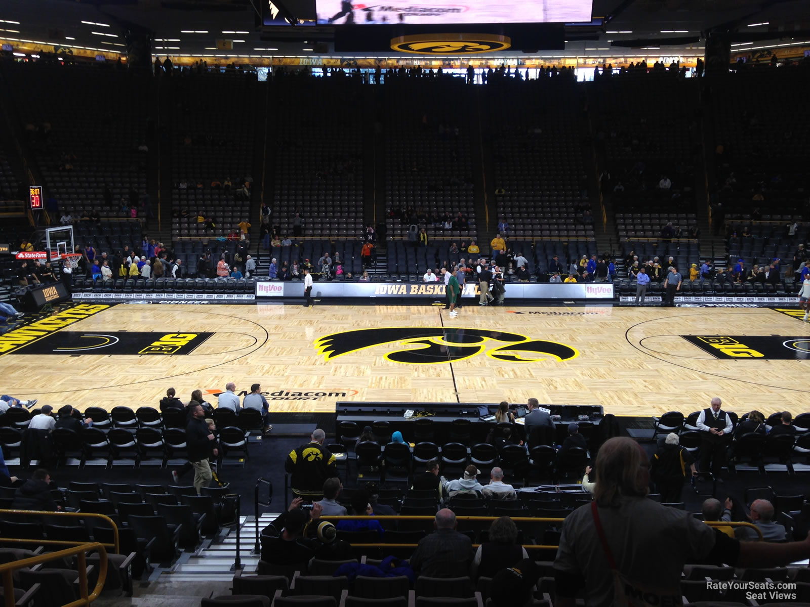 Carver Hawkeye Arena Section Nn Rateyourseatscom