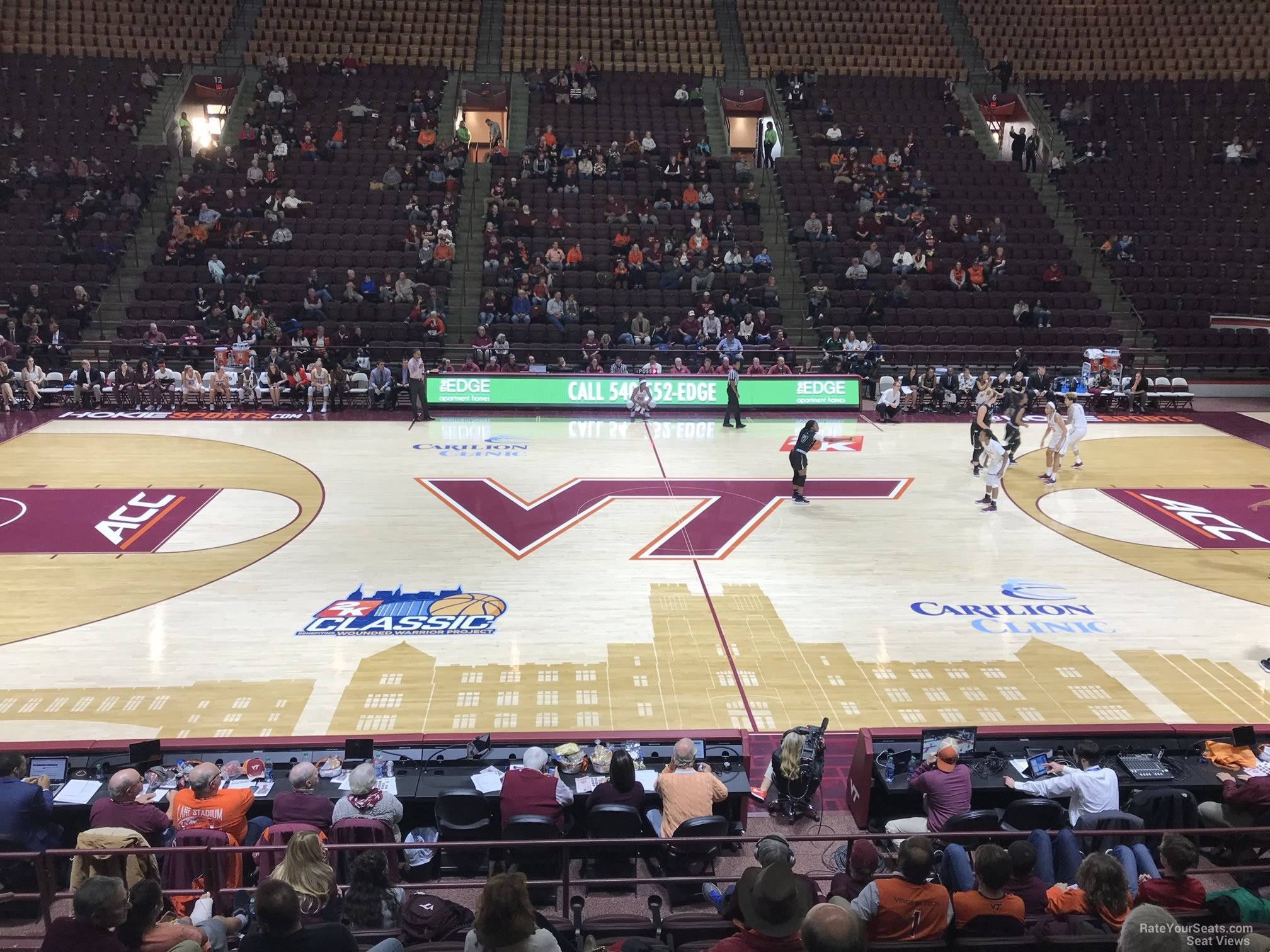 Cassell Coliseum Section 11 Rateyourseatscom