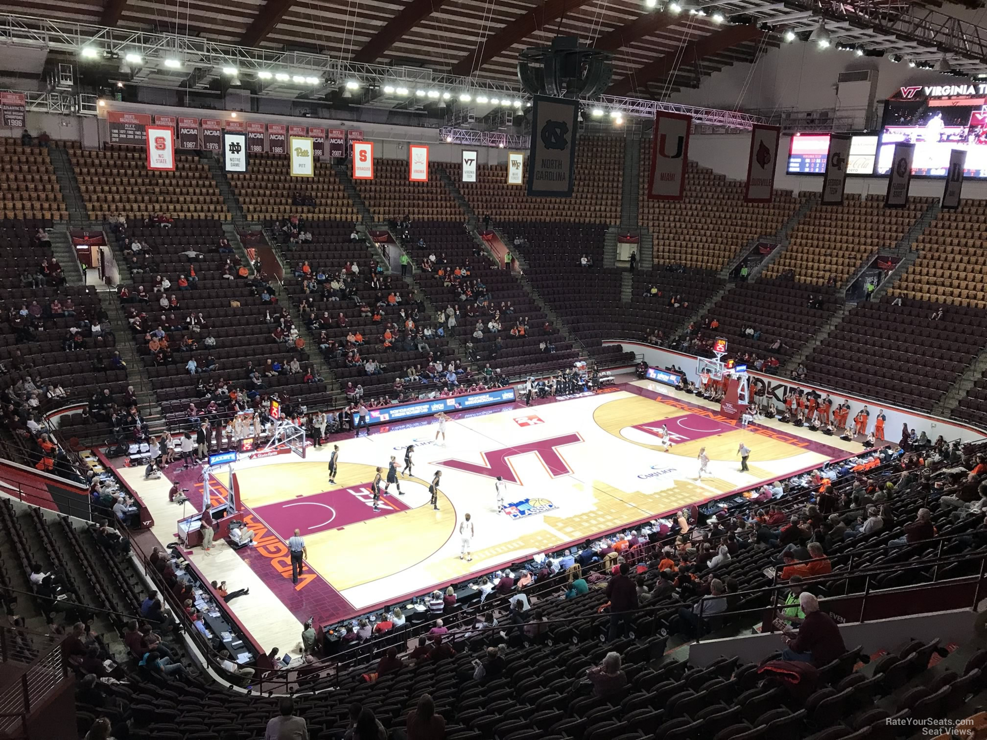 Cassell Coliseum Section 13 Rateyourseatscom