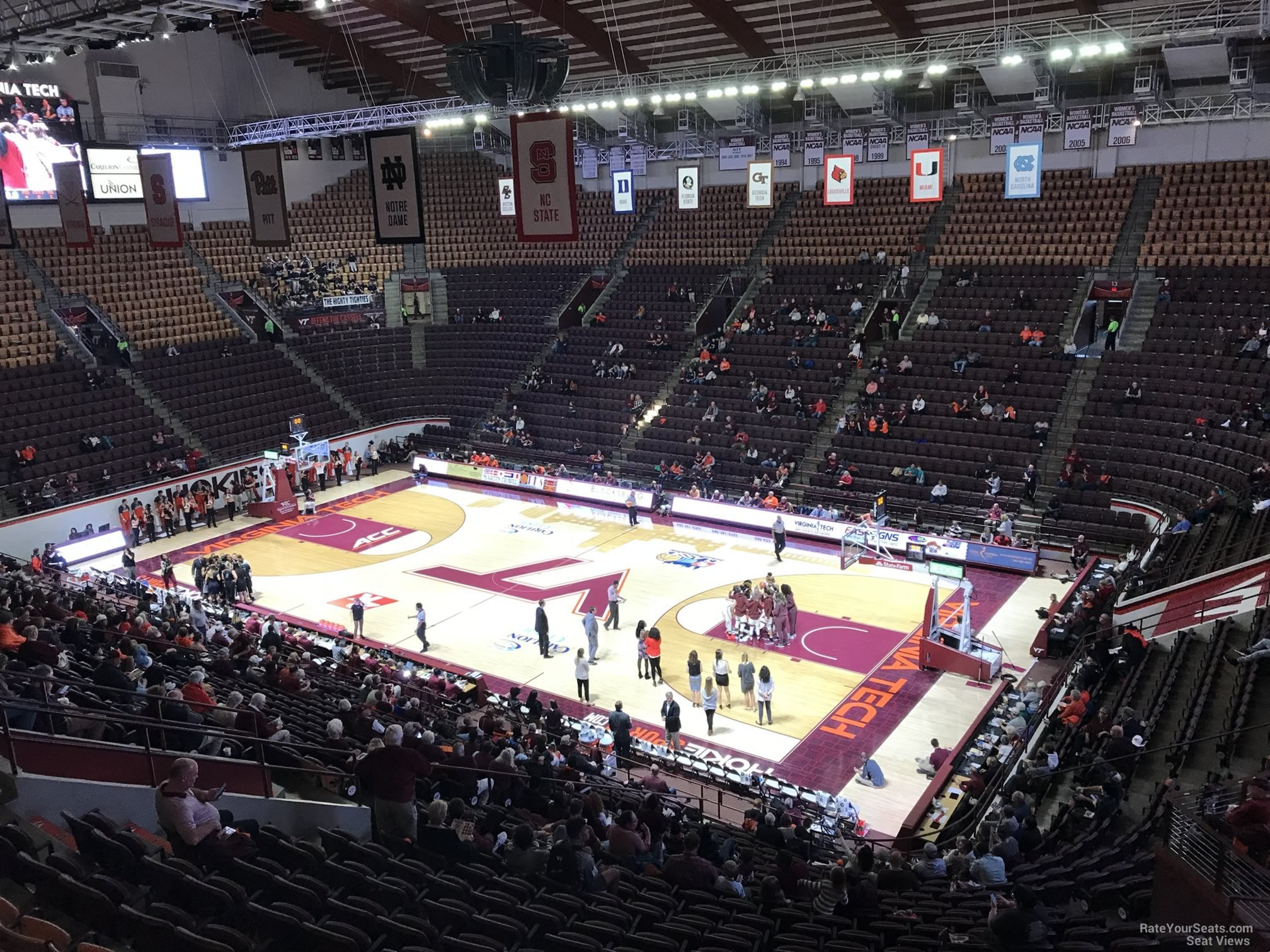 Cassell Coliseum Section 14 Rateyourseatscom