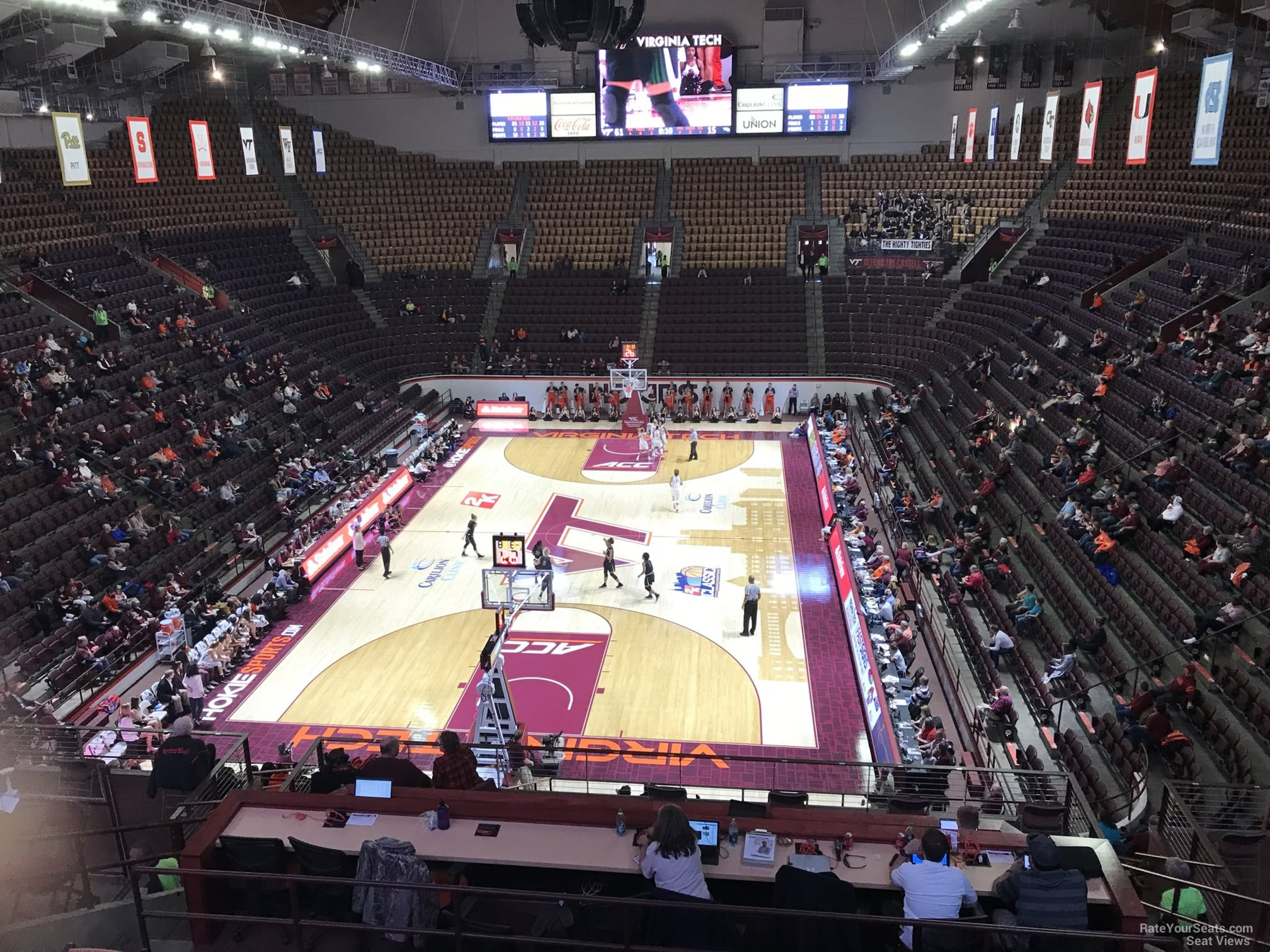 Cassell Coliseum Section 17 Rateyourseatscom