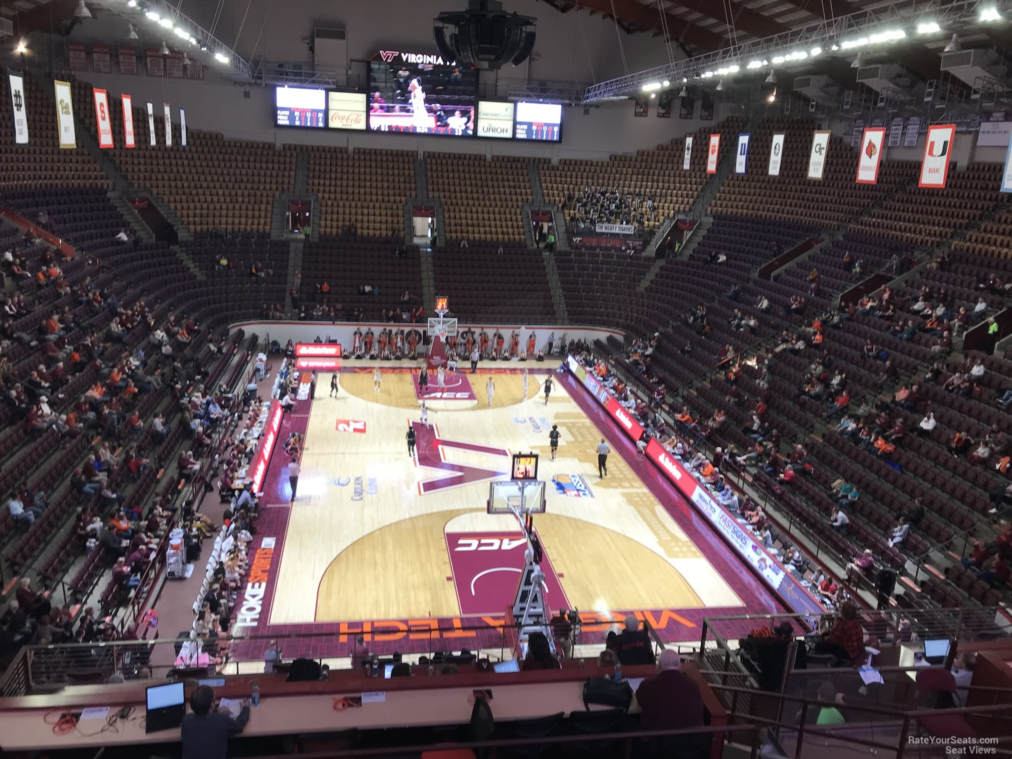 Cassell Coliseum Section 18 Rateyourseatscom
