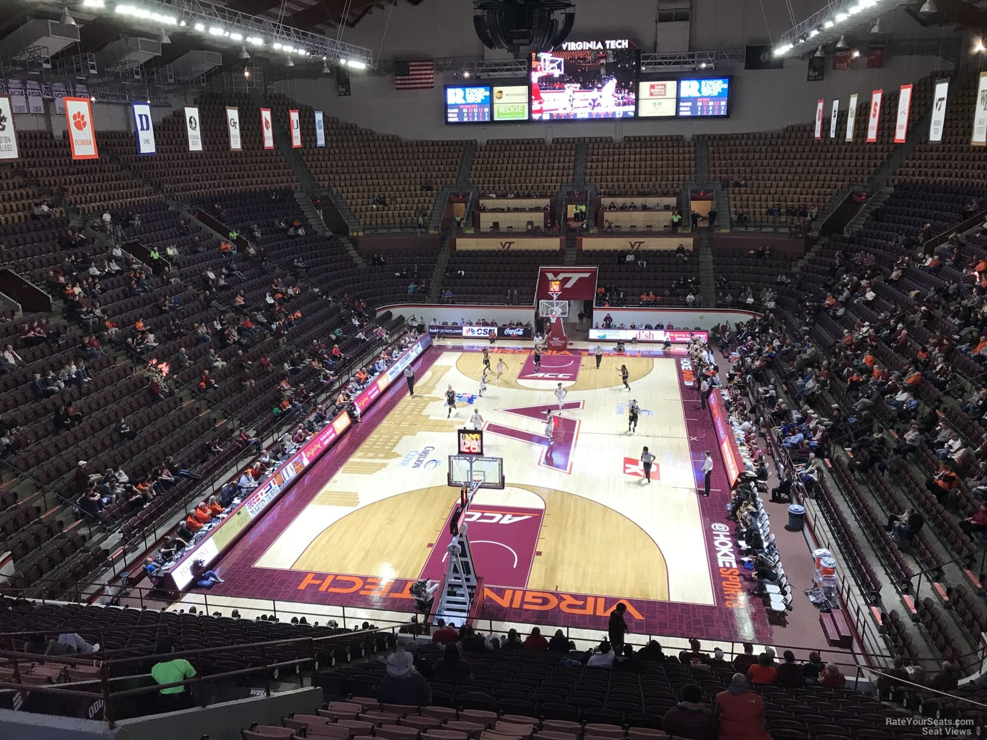 Cassell Coliseum Section 2 Rateyourseatscom