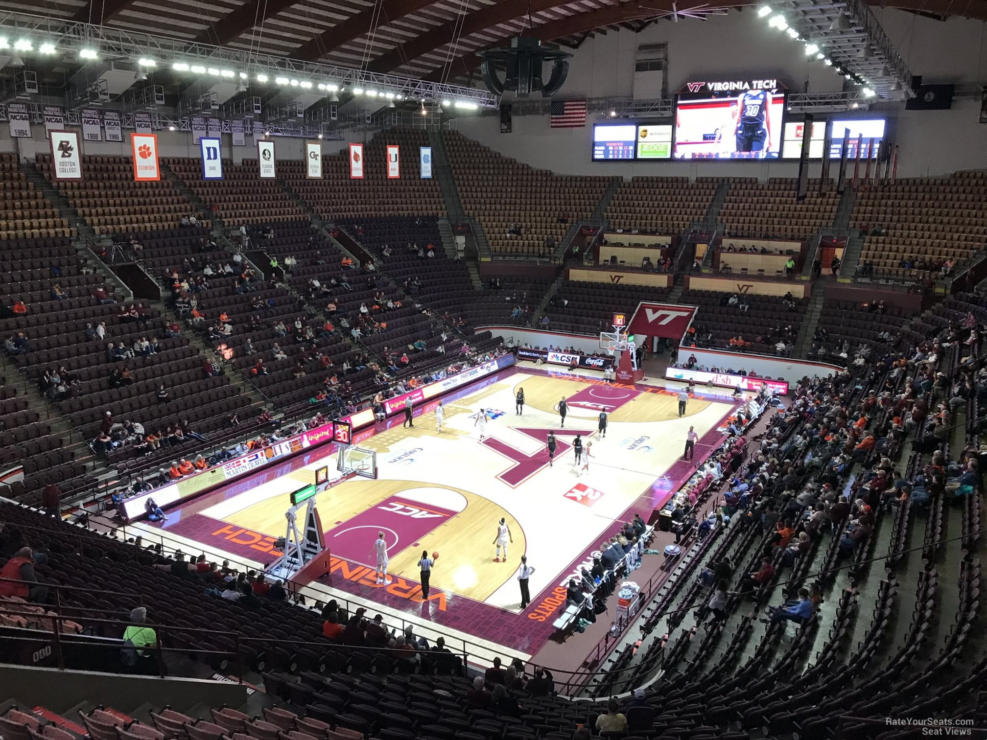 Cassell Coliseum Section 4 Rateyourseatscom