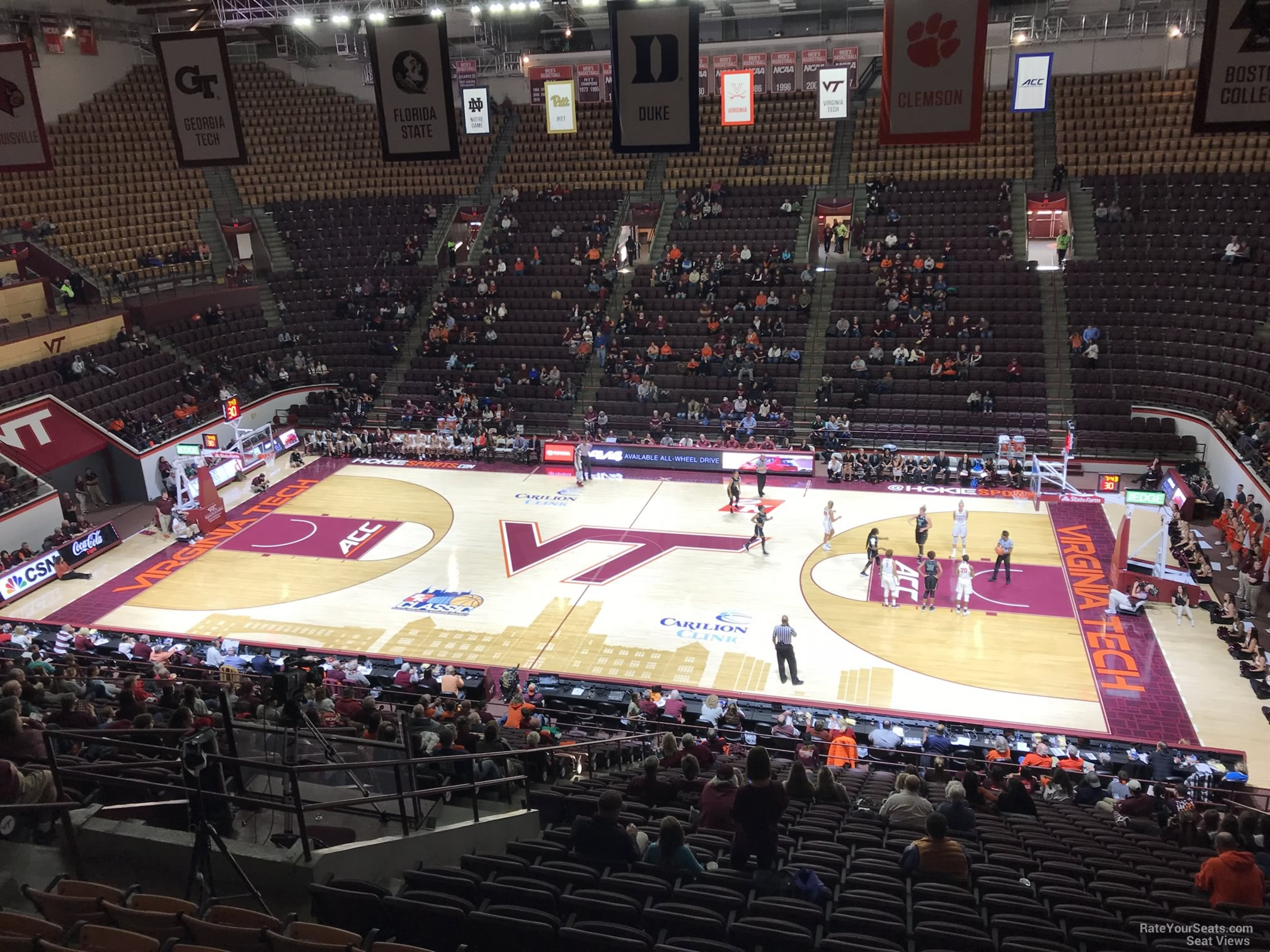 Cassell Coliseum Section 7 Rateyourseatscom