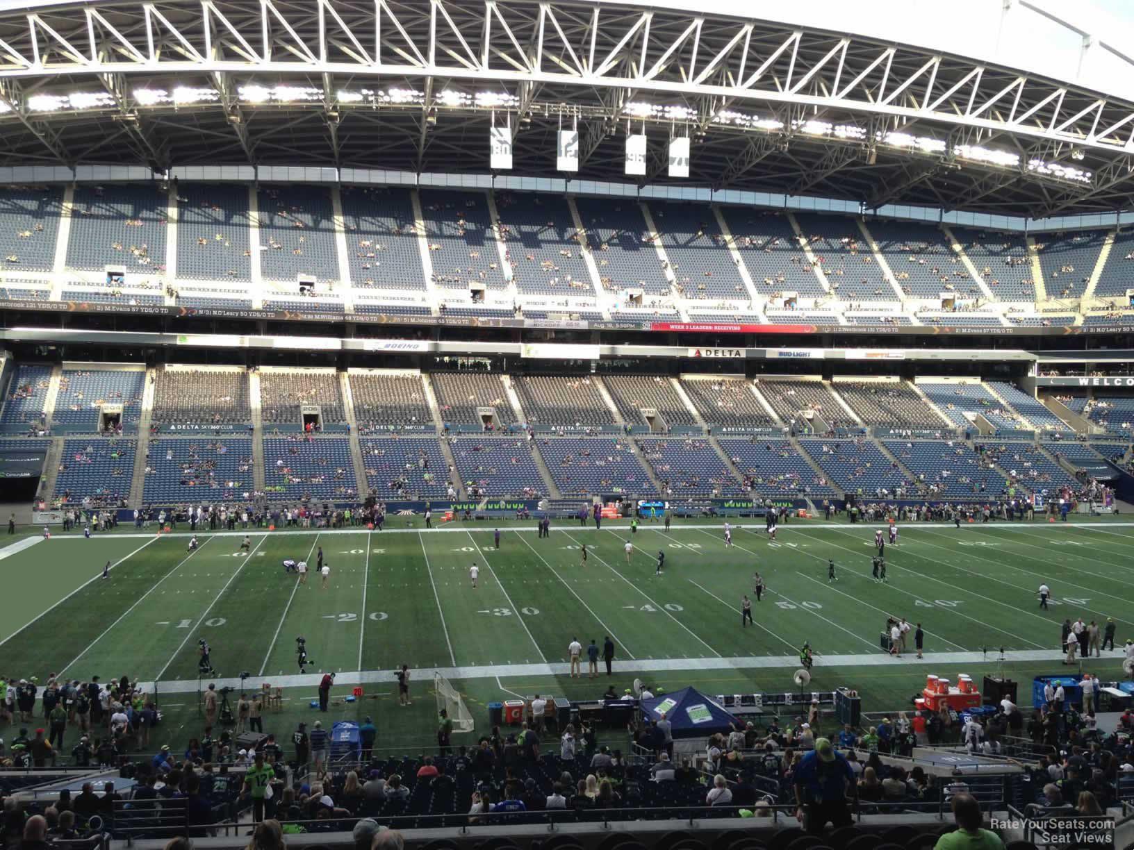 Centurylink Field Section 237 Seattle Seahawks