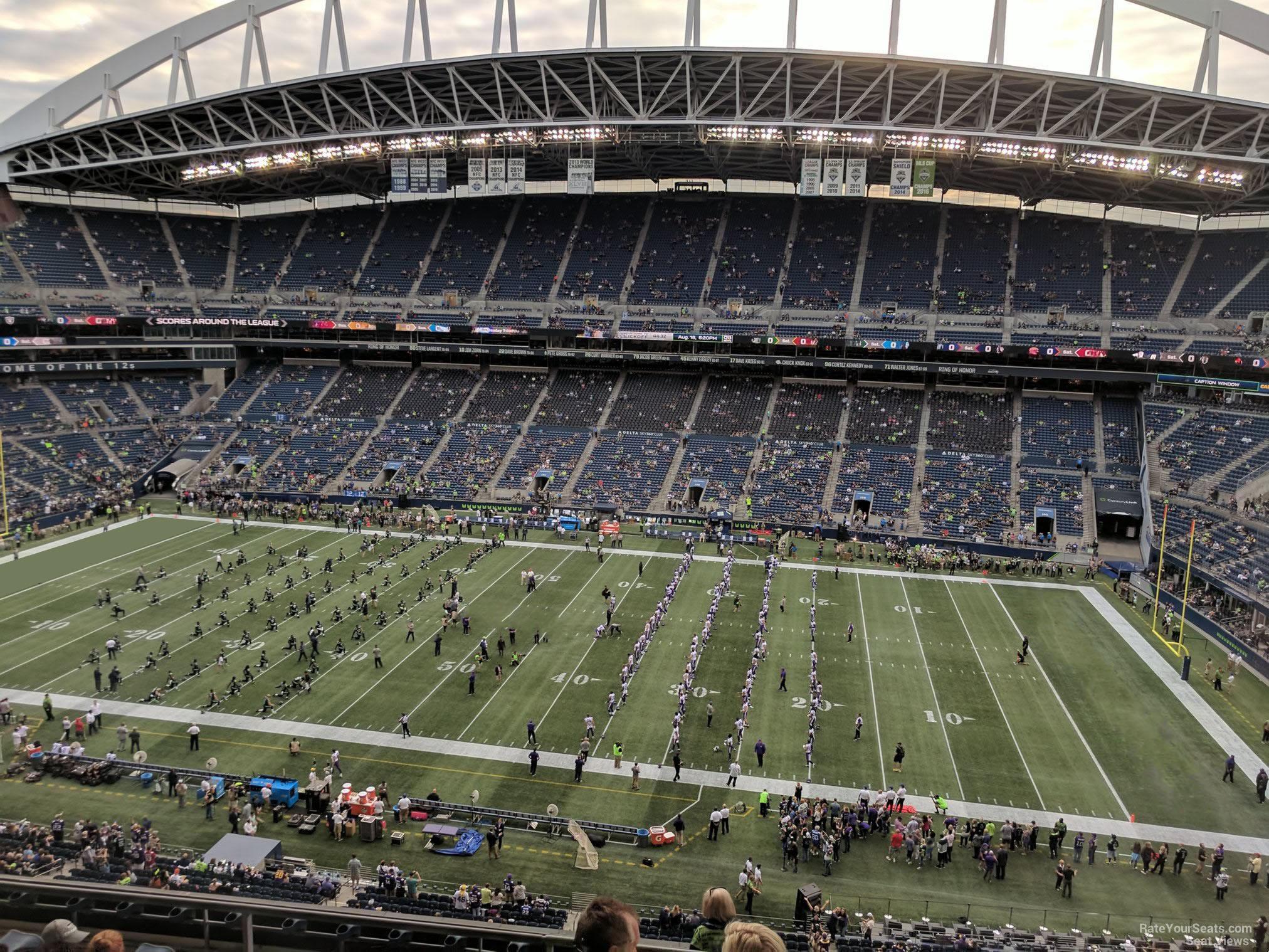 Centurylink Field Section 307 Seattle Seahawks Rateyourseatscom