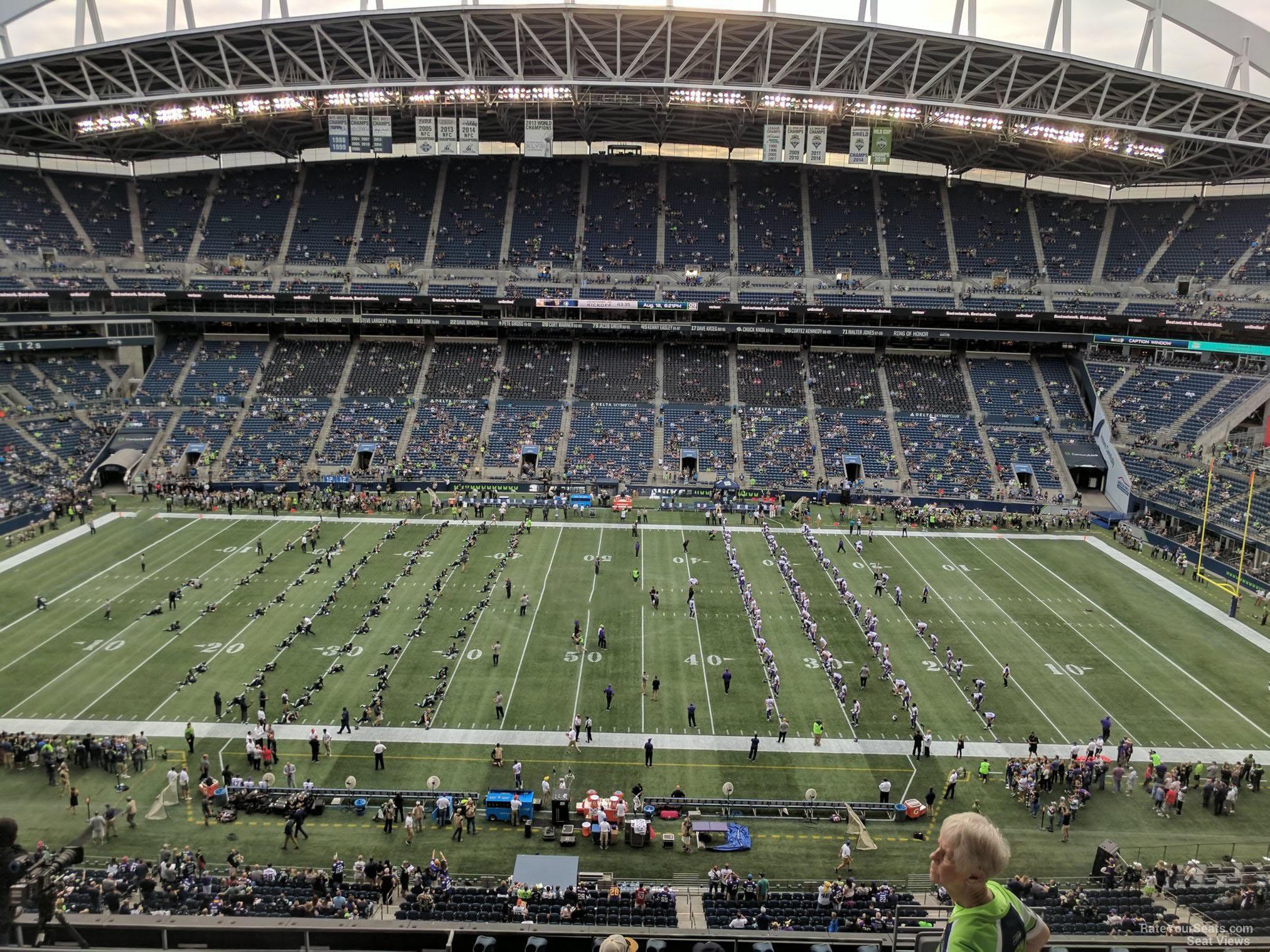 Centurylink Field Section 309 Seattle Seahawks
