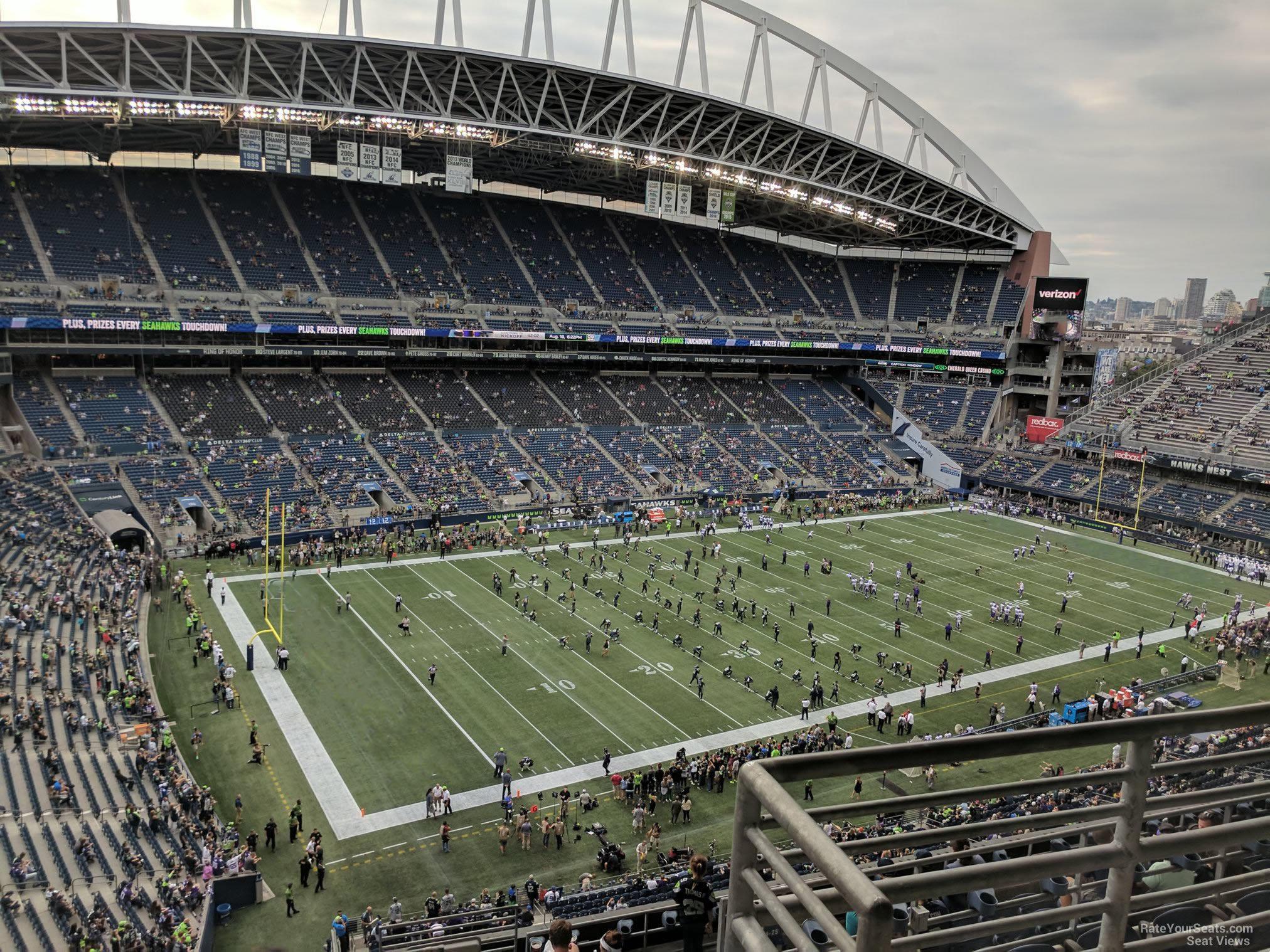 Centurylink Field Section 315 Seattle Seahawks