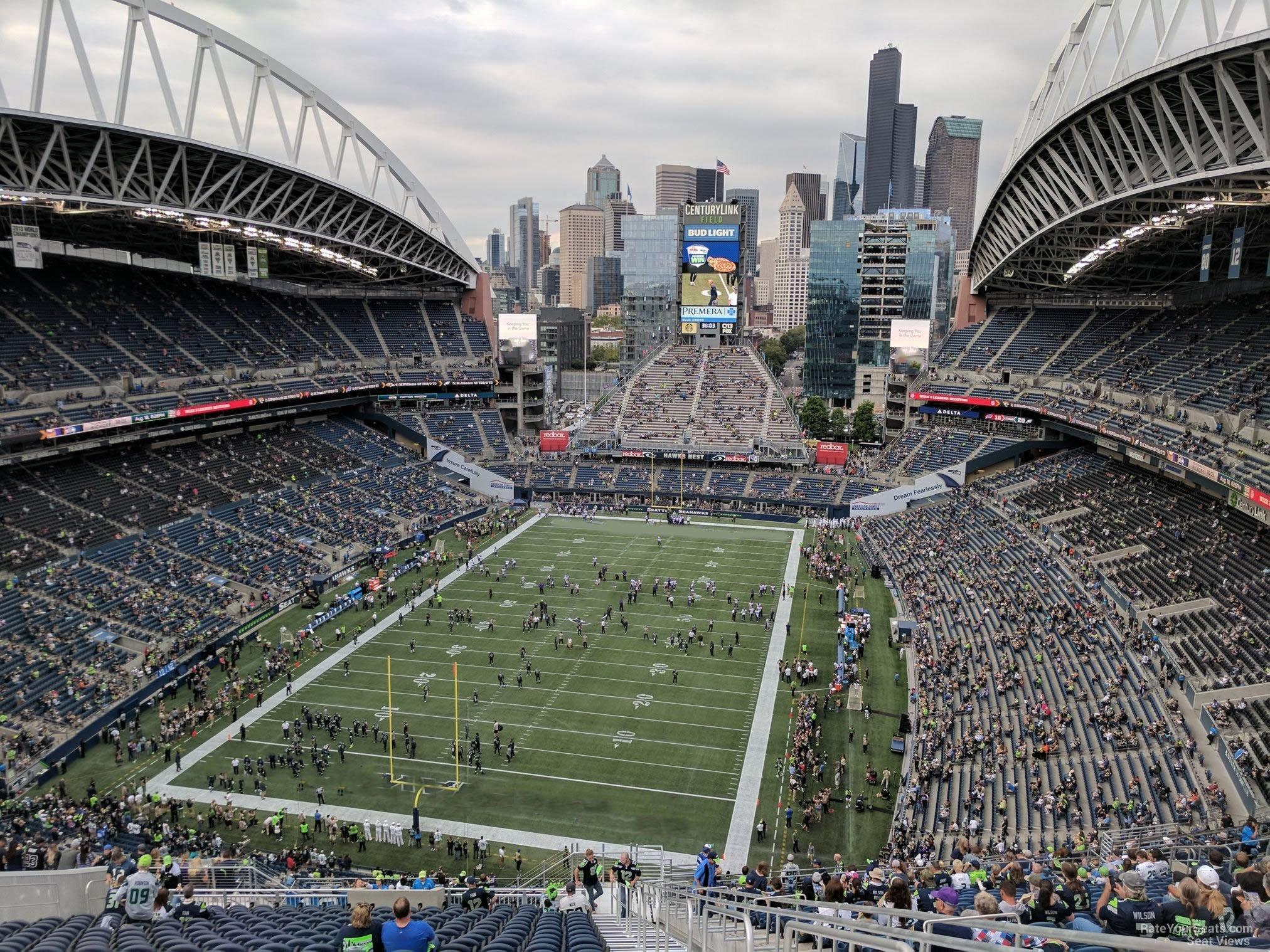 Centurylink Field Section 320 Seattle Seahawks