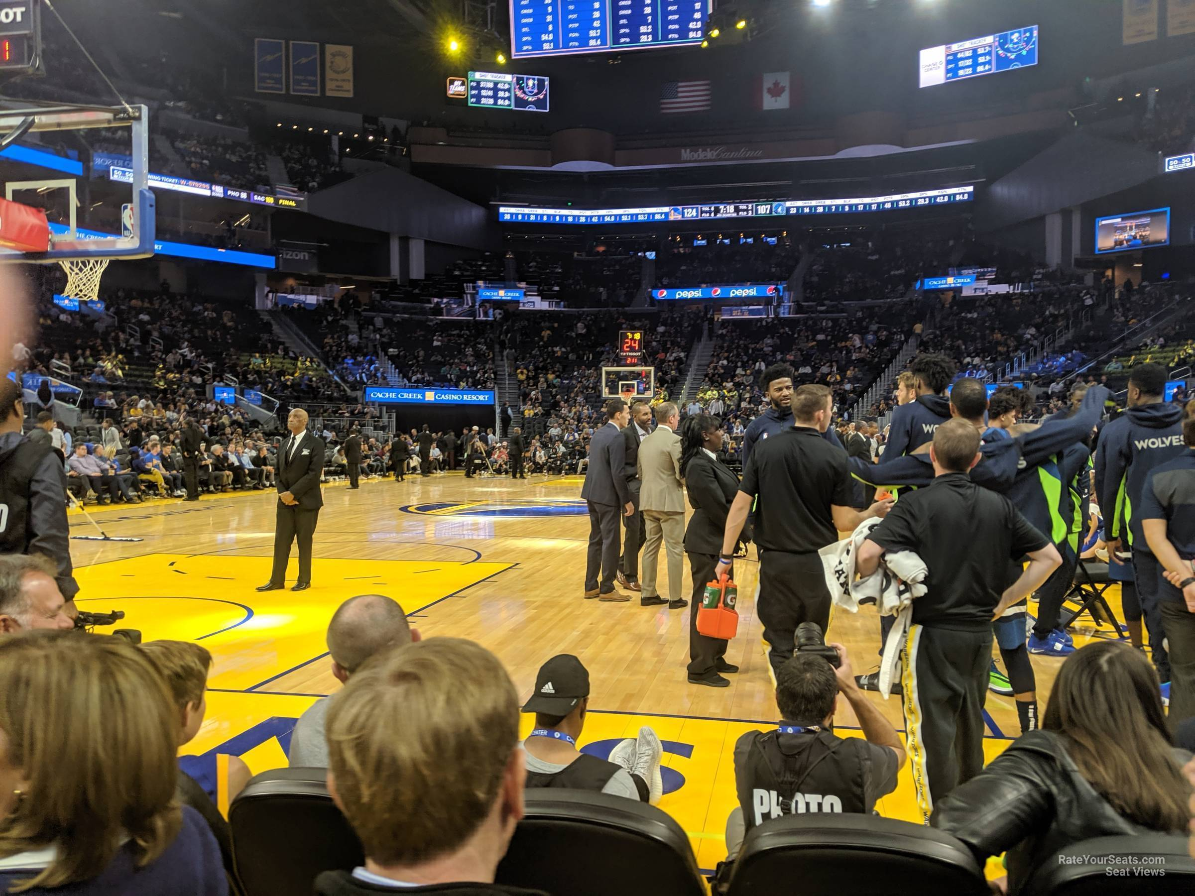 Section 9 At Chase Center Golden State Warriors Rateyourseats Com