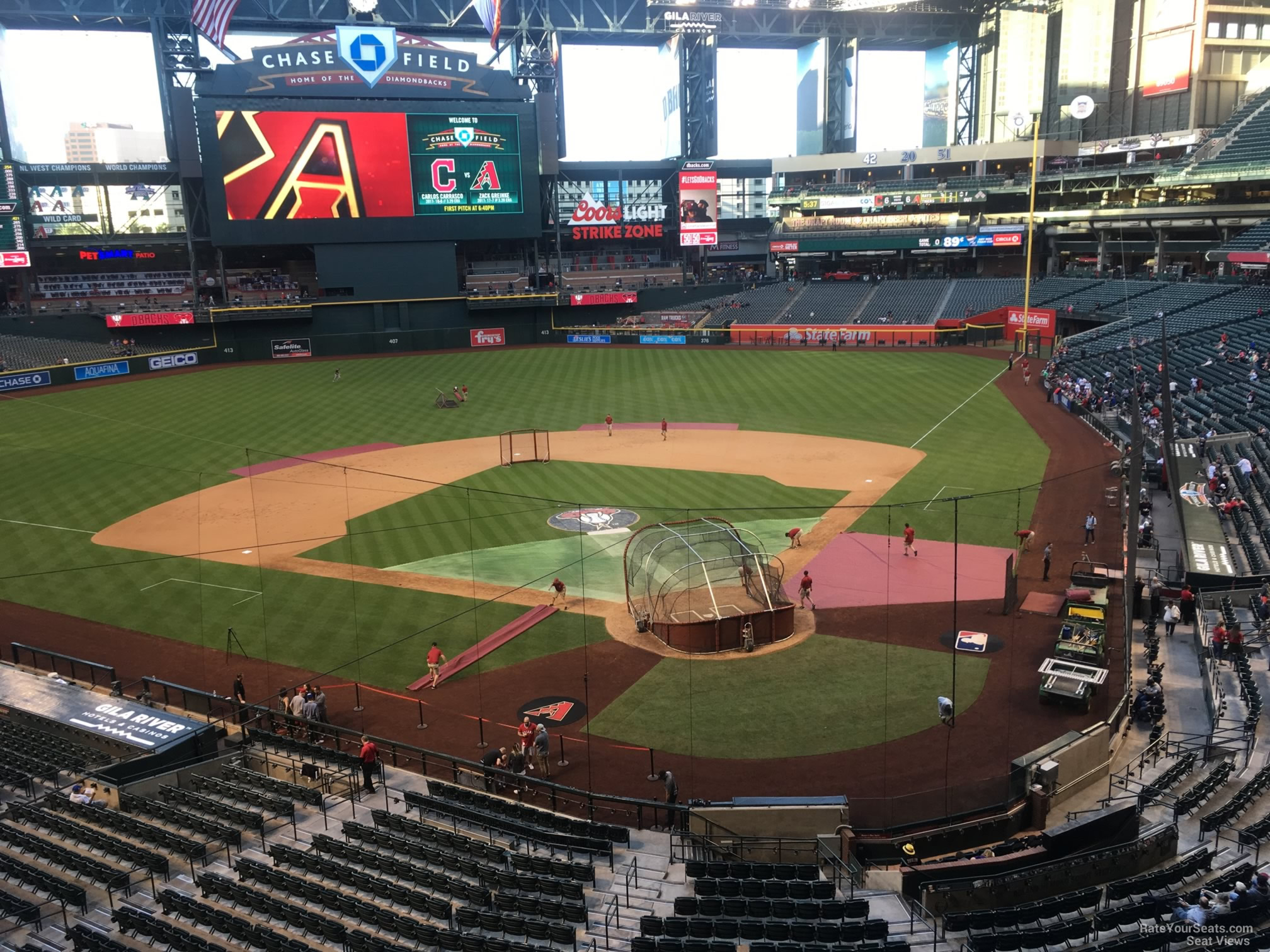 Chase Field Section 210g Arizona