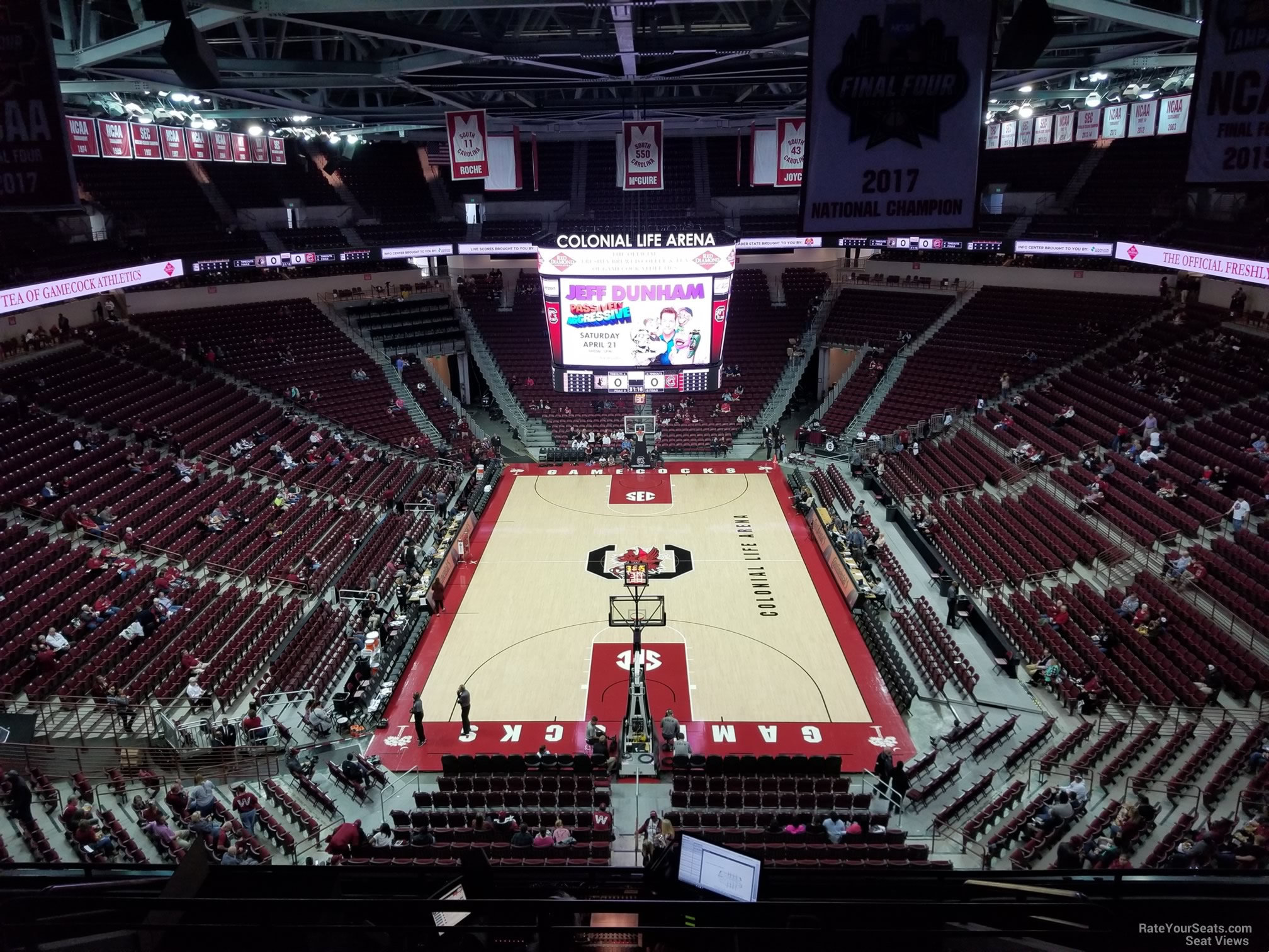 Colonial Life Arena Section 201 South