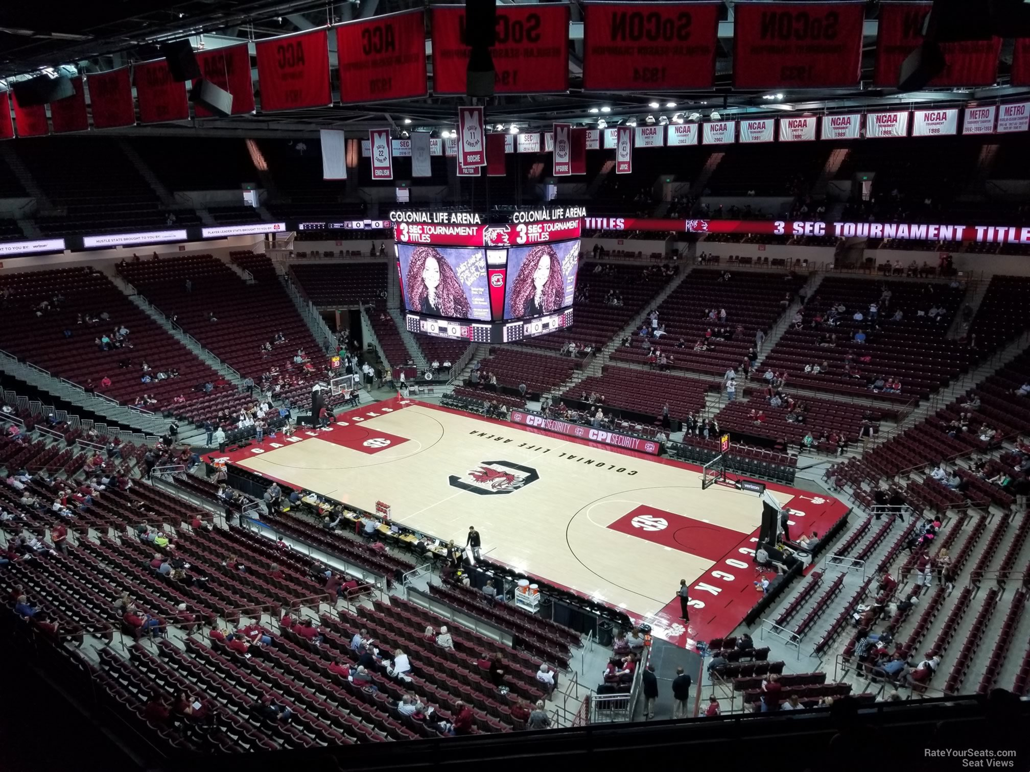 Colonial Life Arena Section 205 South