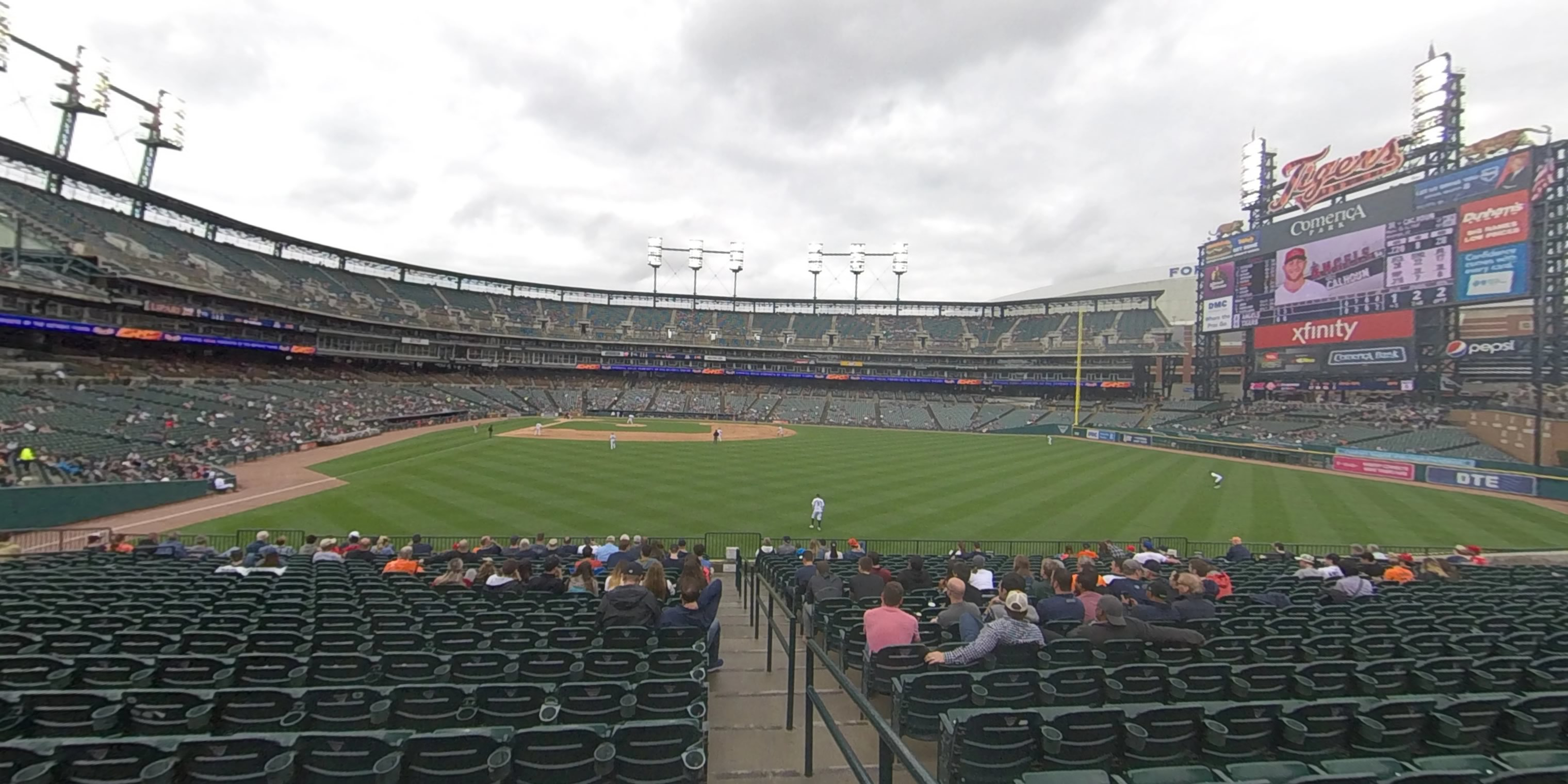 360° Photo From Comerica Park Section 104