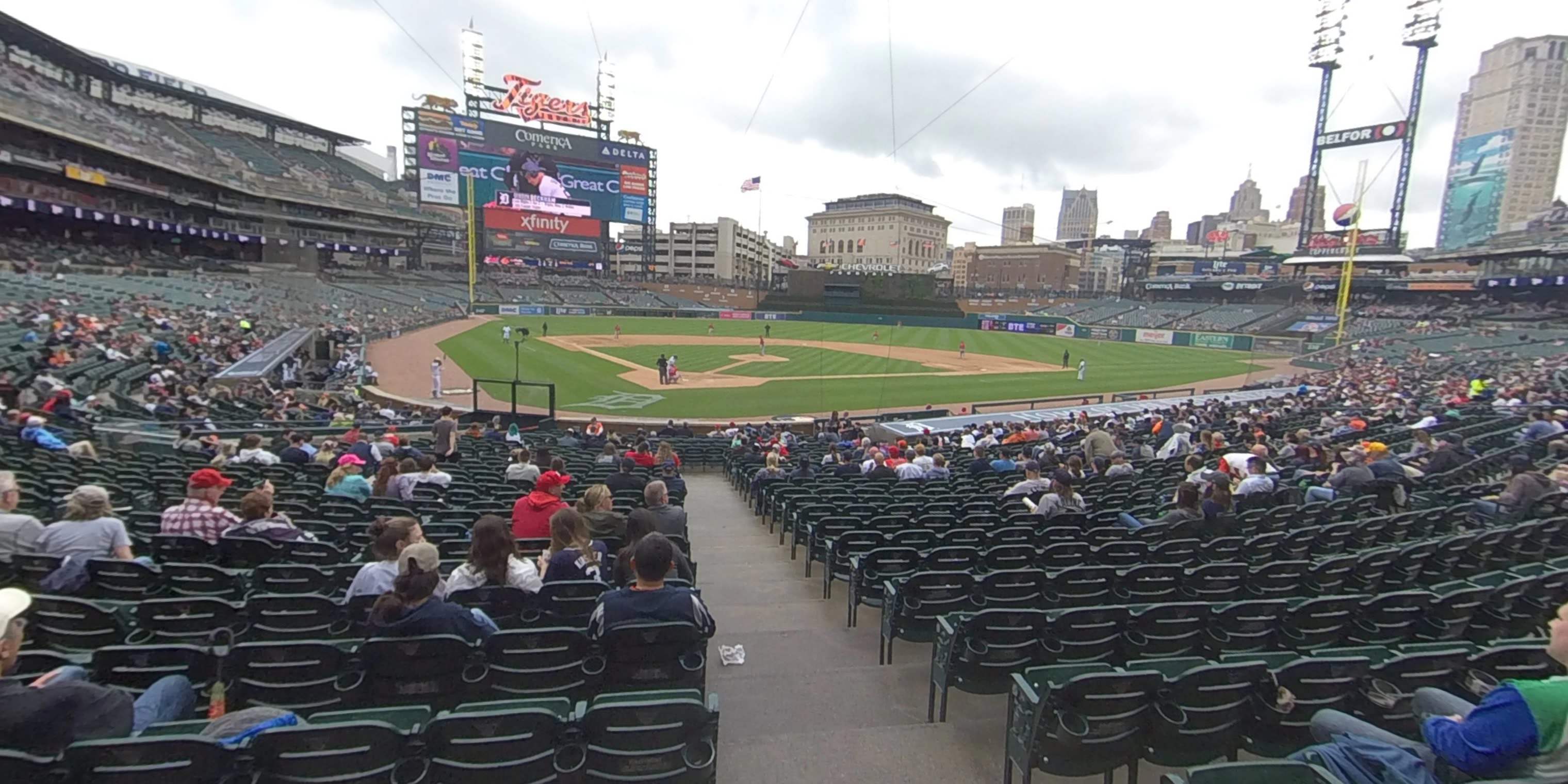 360° Photo From Comerica Park Section 126