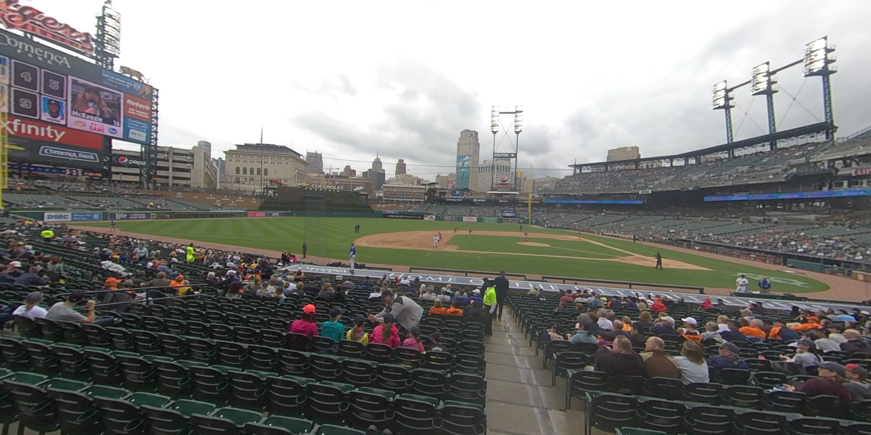 360° Photo From Comerica Park Section 133
