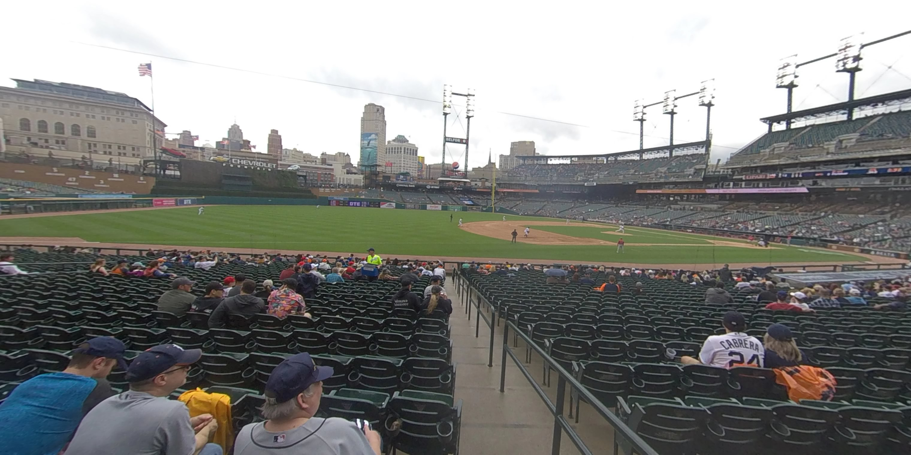360° Photo From Comerica Park Section 137