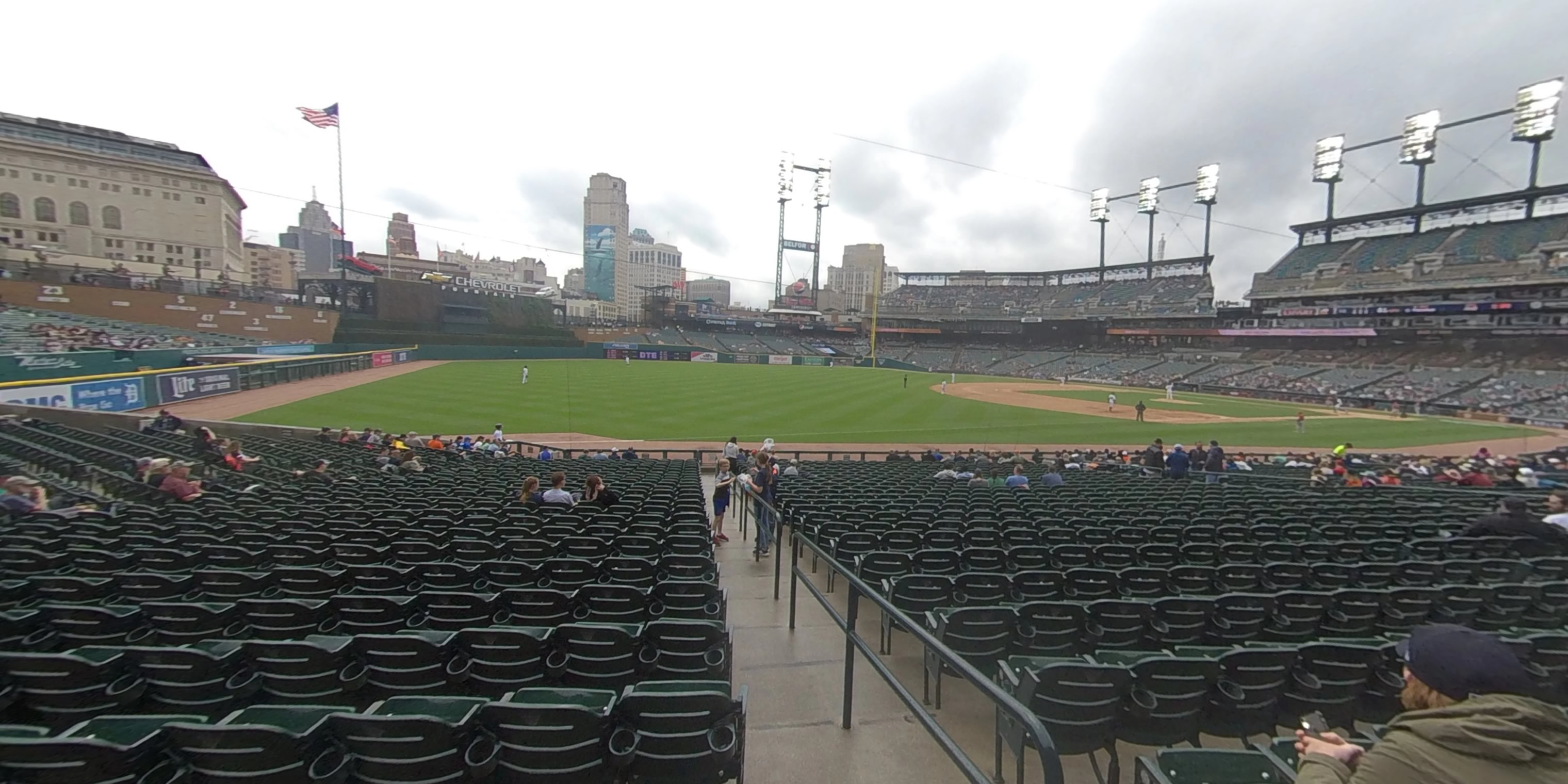 360° Photo From Comerica Park Section 140