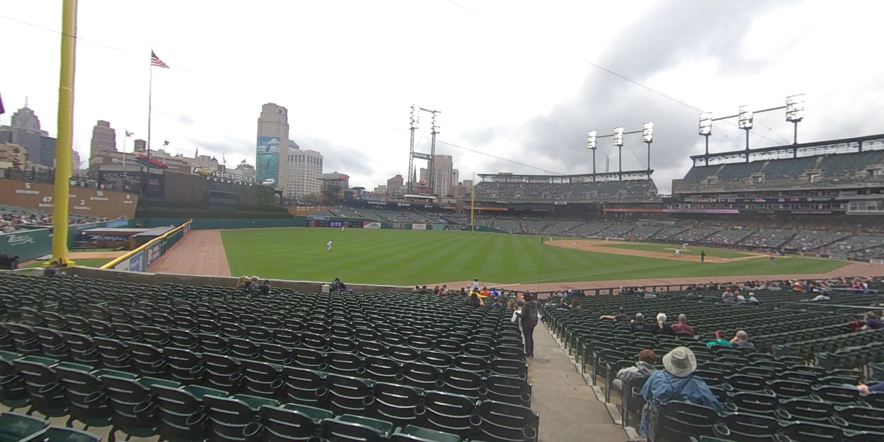 360° Photo From Comerica Park Section 141