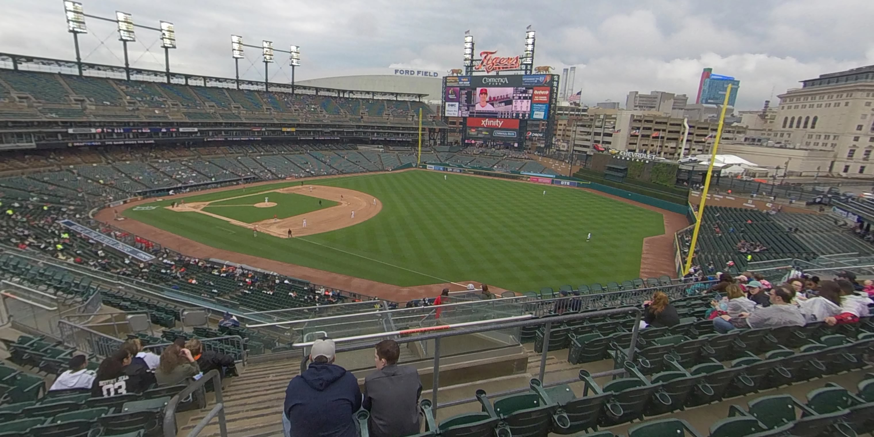 360° Photo From Comerica Park Section 213
