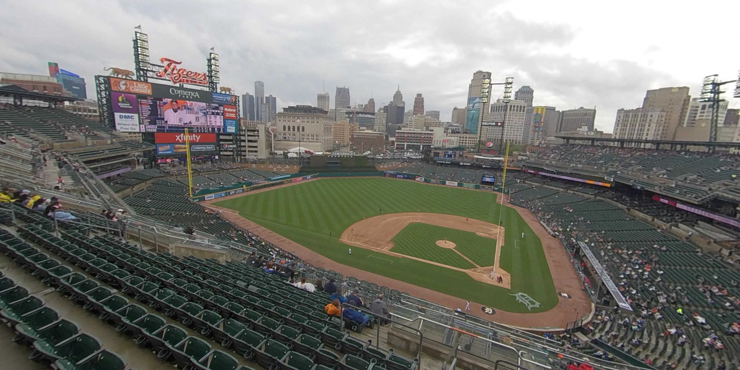 360° Photo From Comerica Park Section 331