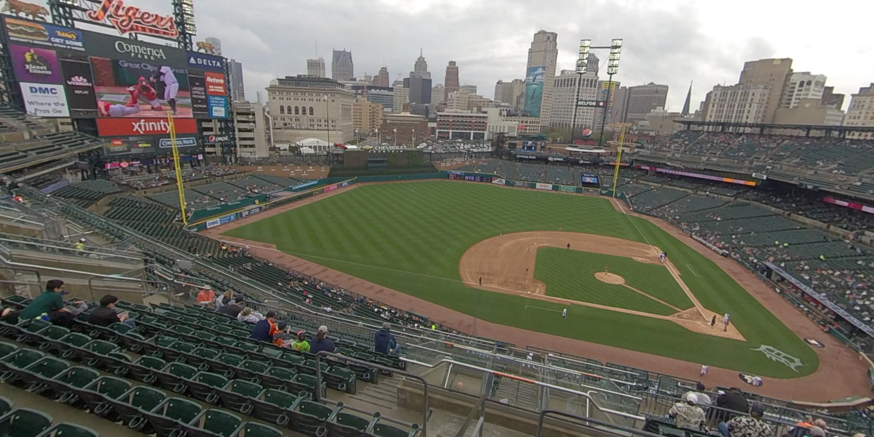 360° Photo From Comerica Park Section 333