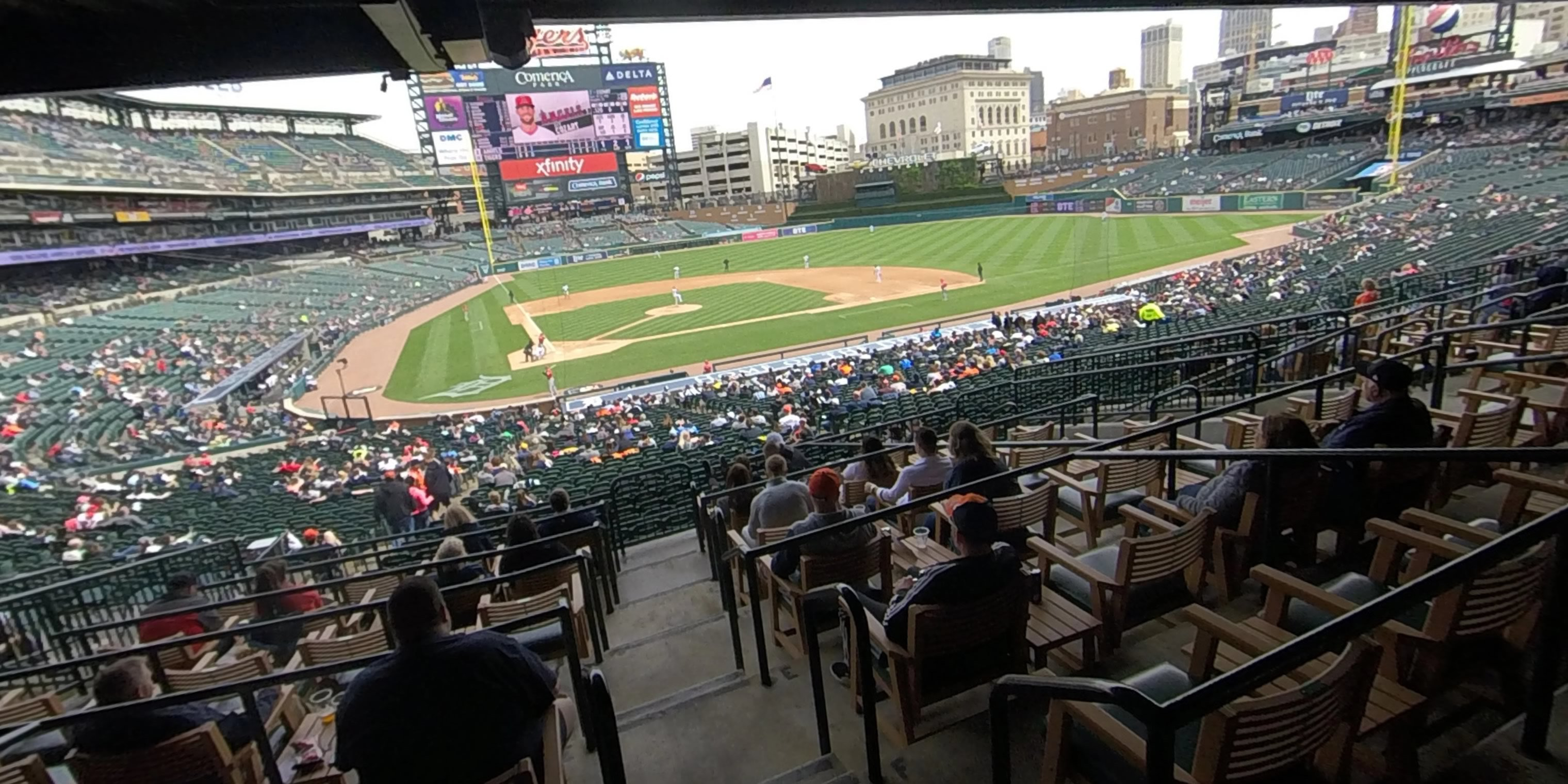 360° Photo From Comerica Park Tiger Den 124