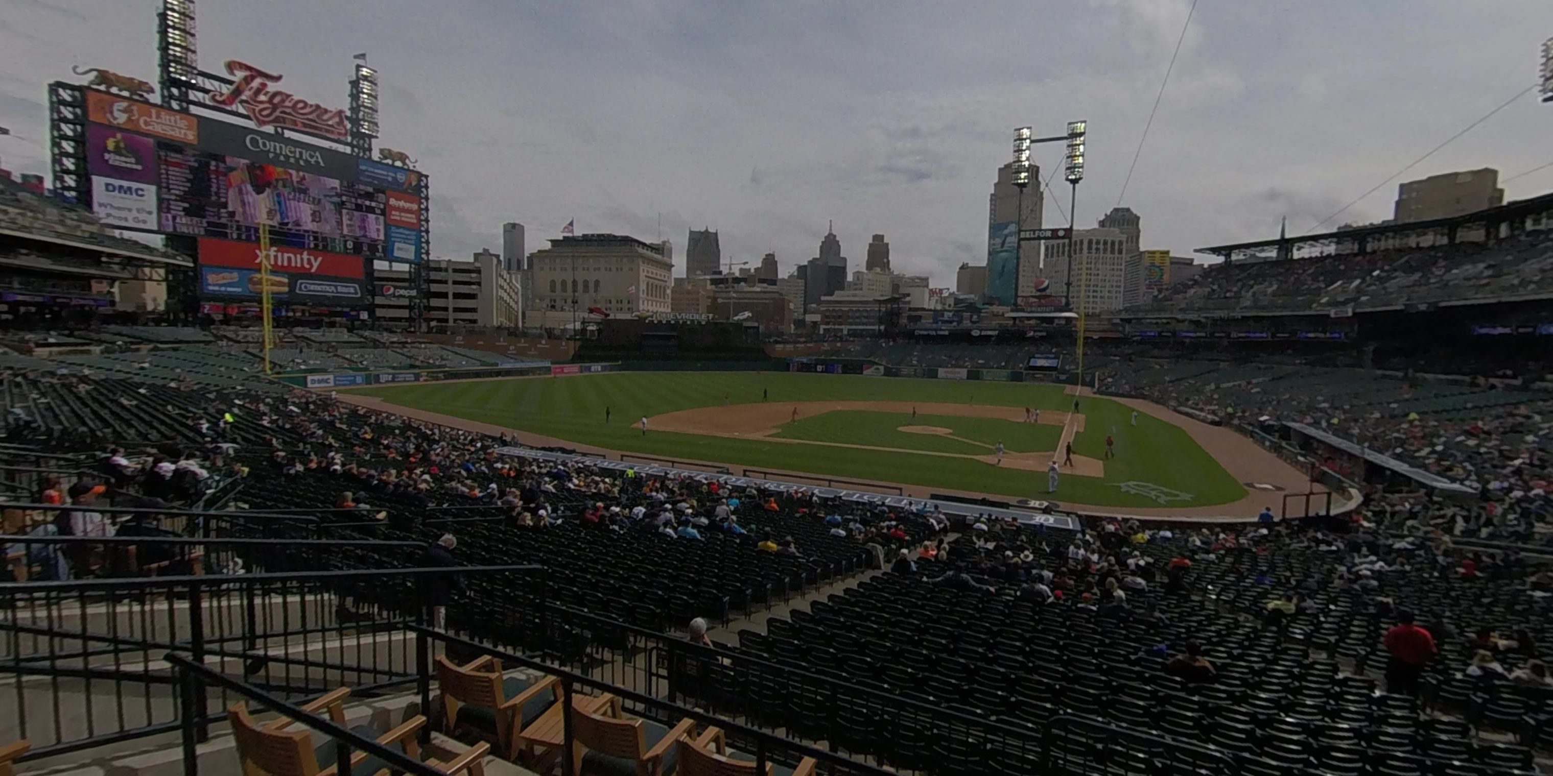 360° Photo From Comerica Park Tiger Den 131