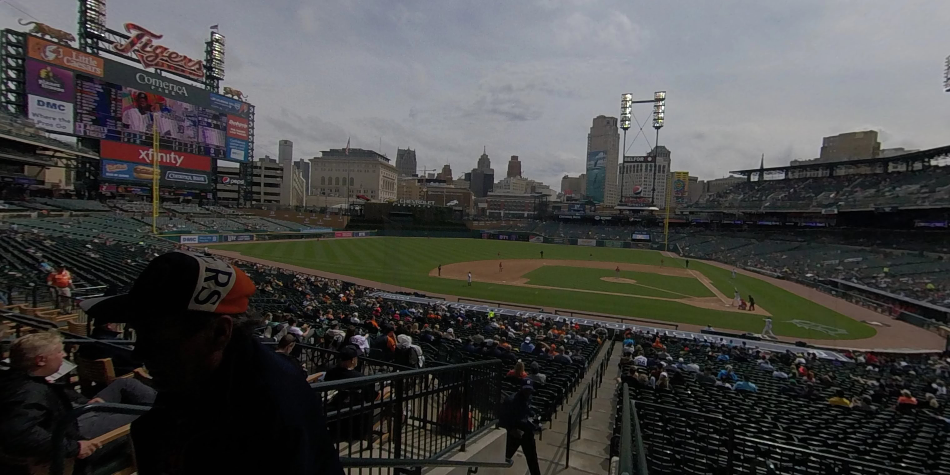 360° Photo From Comerica Park Tiger Den 132