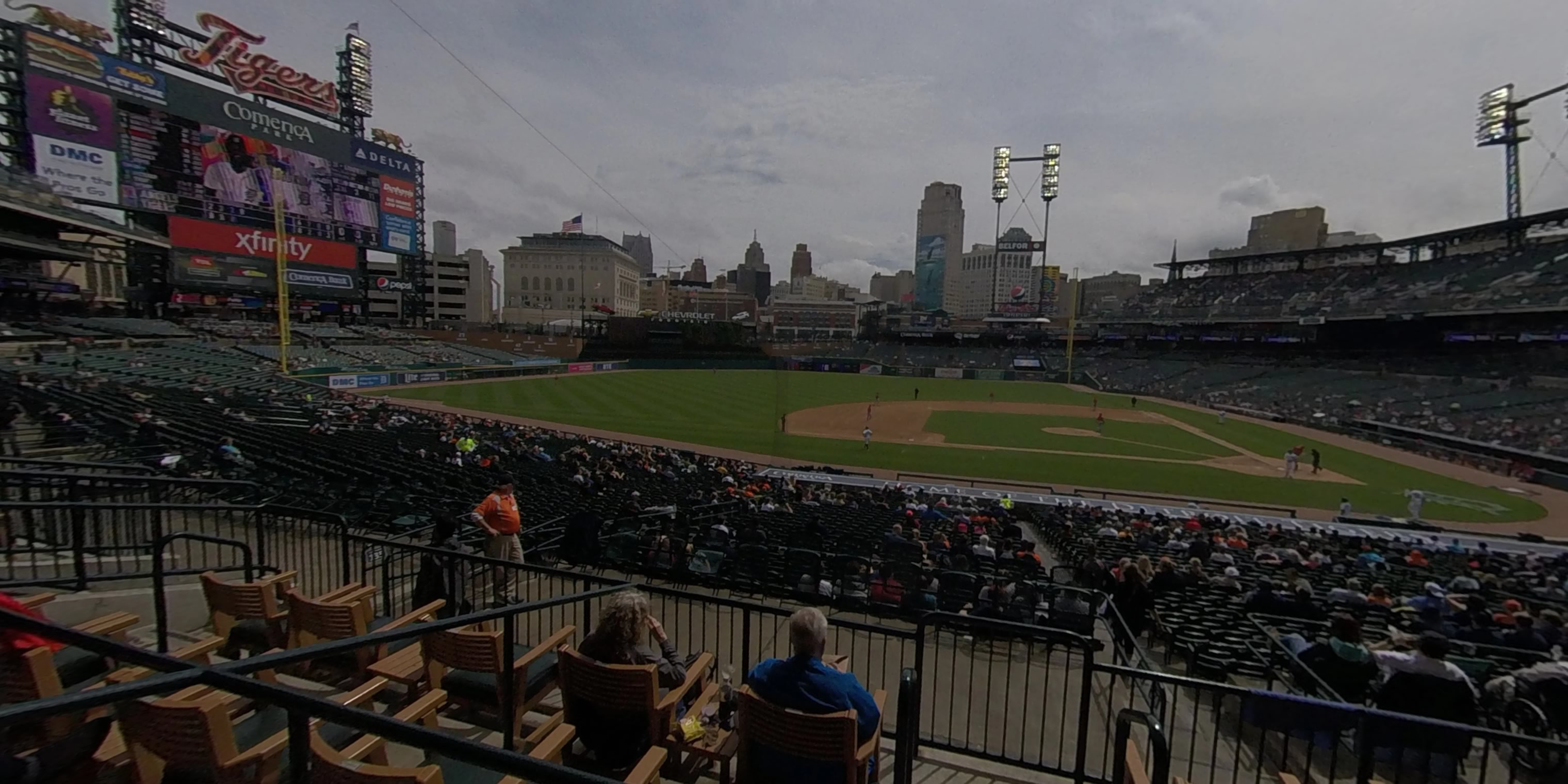 360° Photo From Comerica Park Tiger Den 134