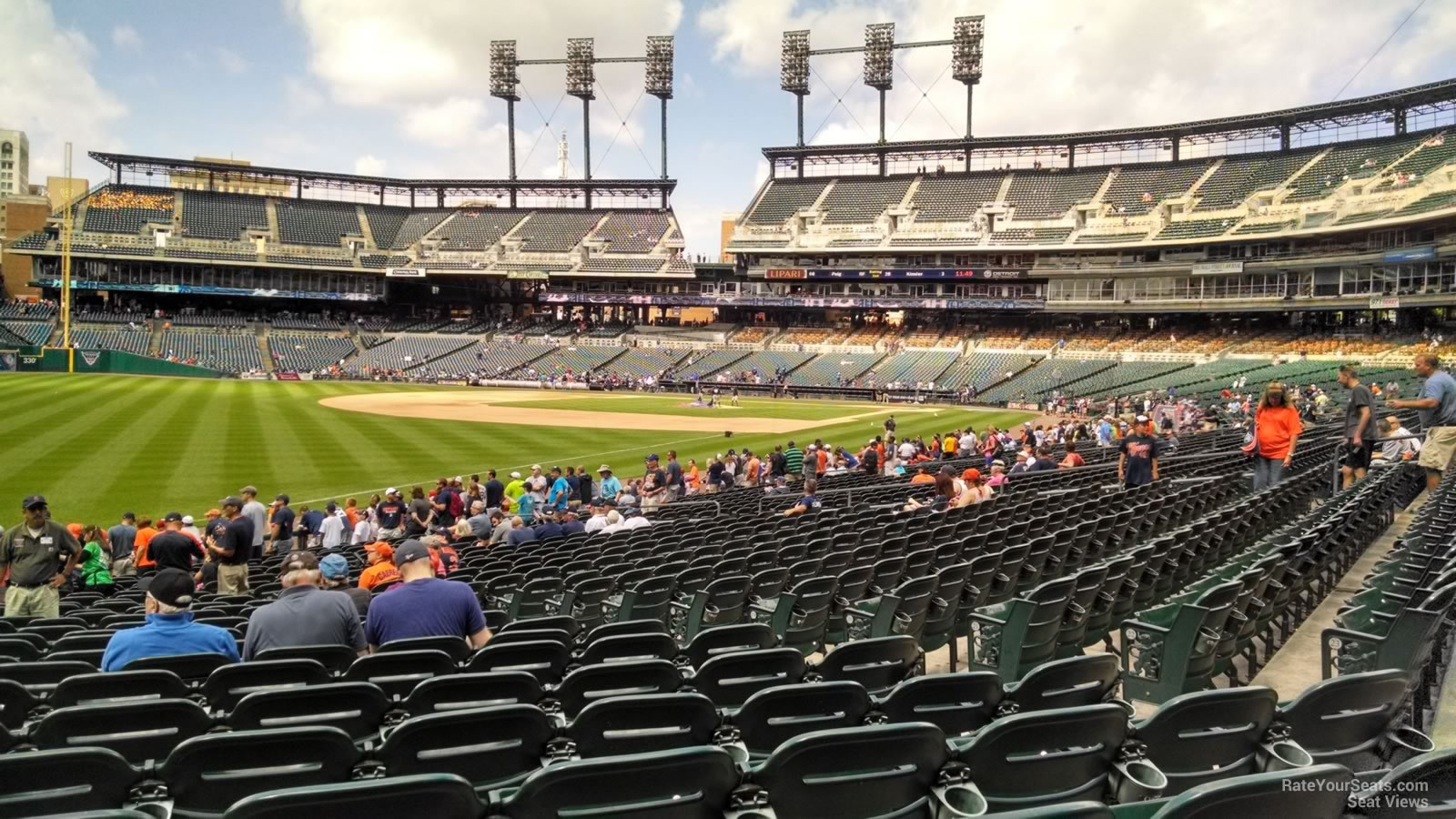 Seat View for Comerica Park Section 141, Row 26