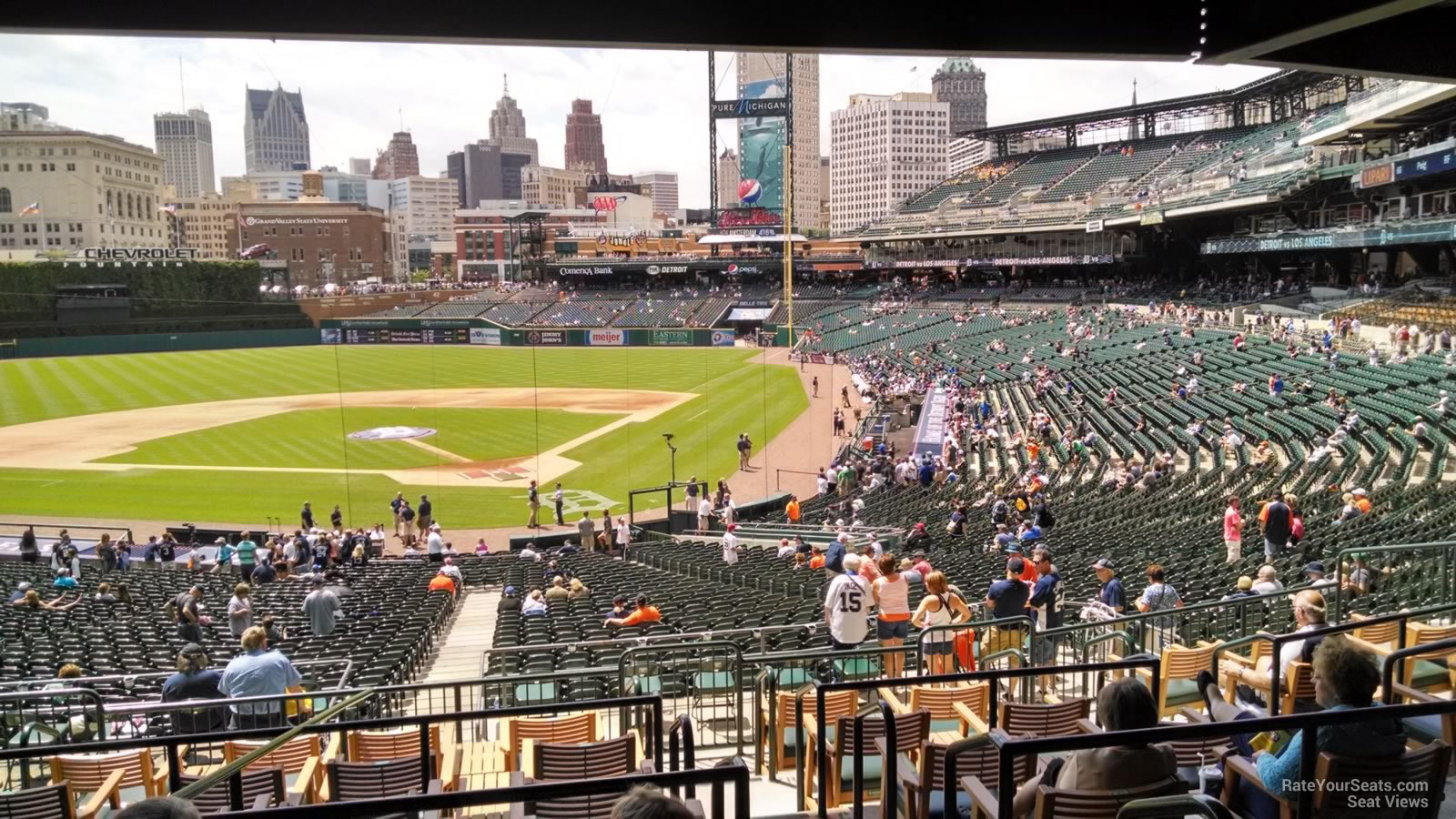 View From Tigers Den Section TD129