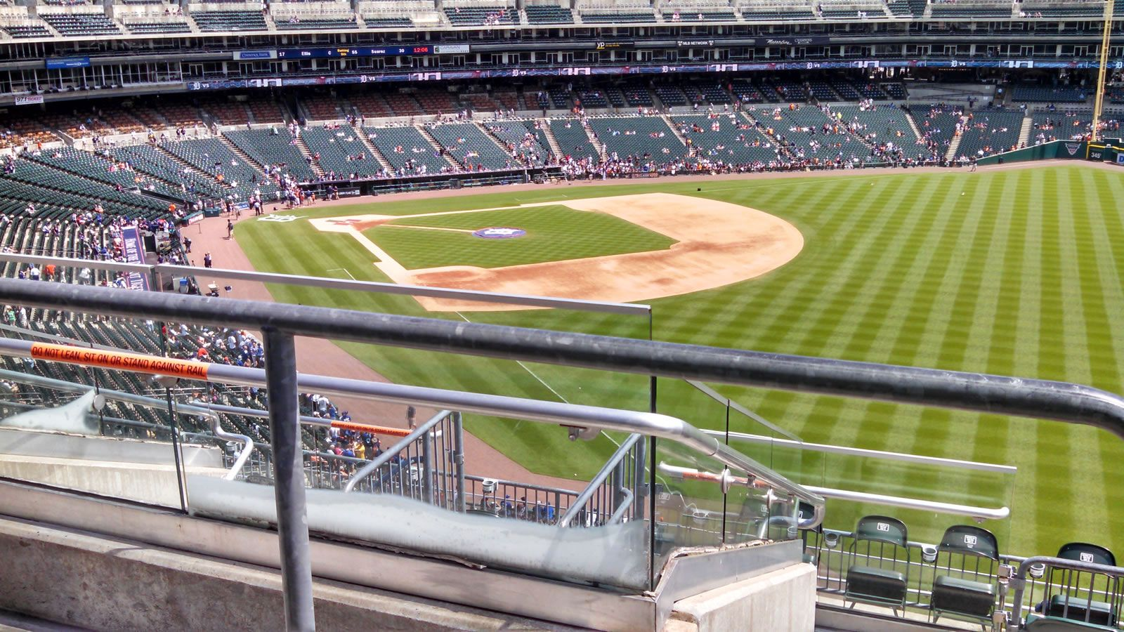 Seat View for Comerica Park Section 211, Row 7, Seat 15