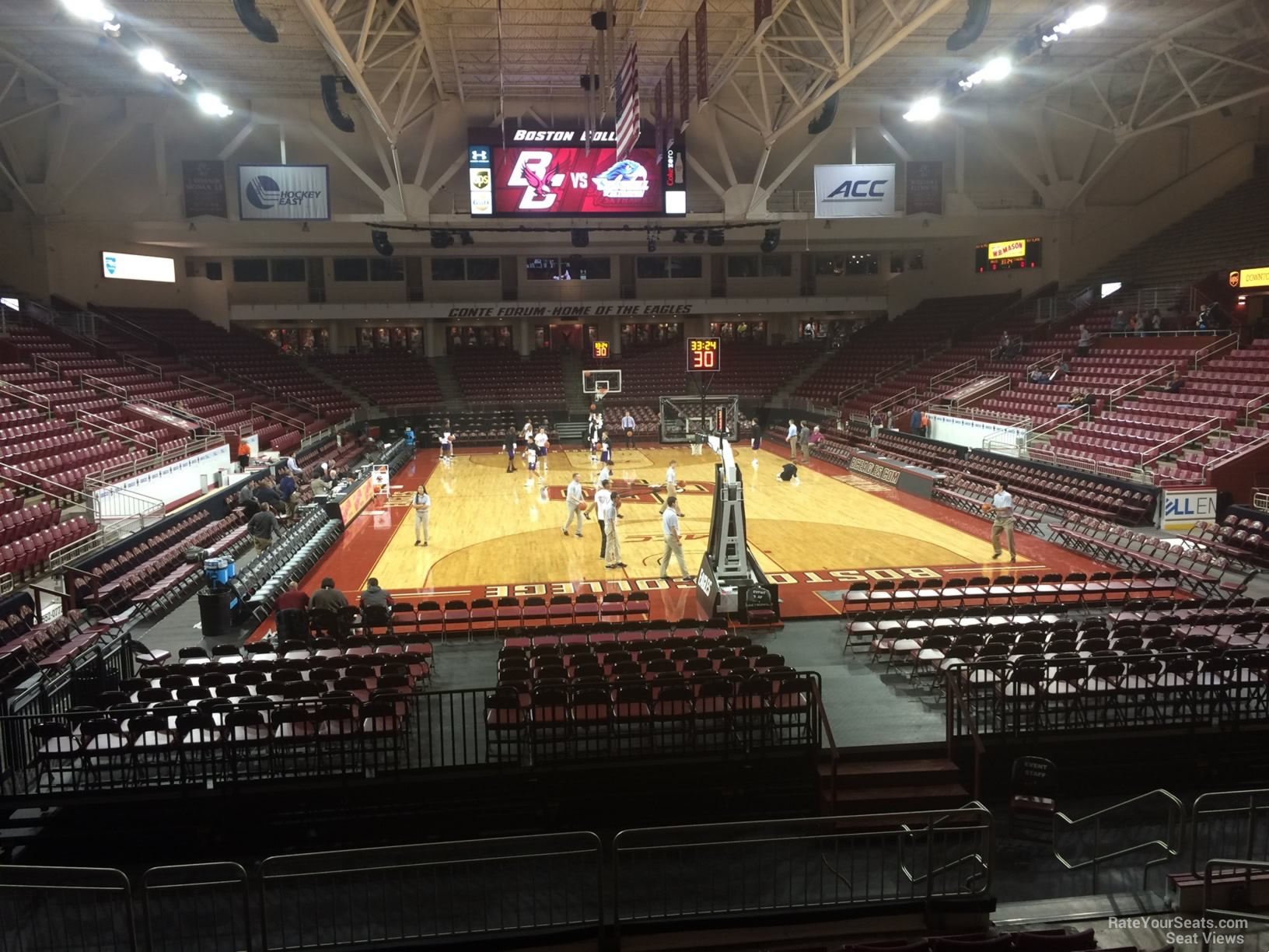 Seat View for Conte Forum Section G, Row 10