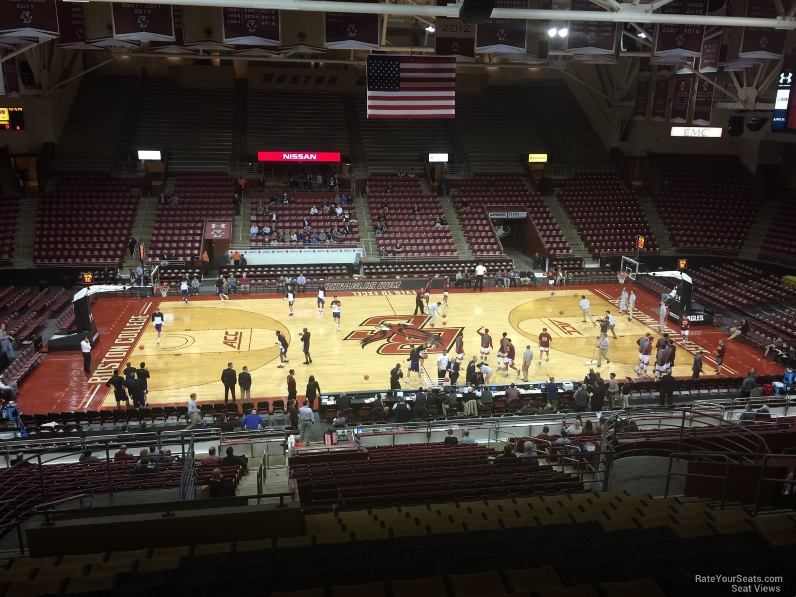 Seat View for Conte Forum Section MM, Row 30